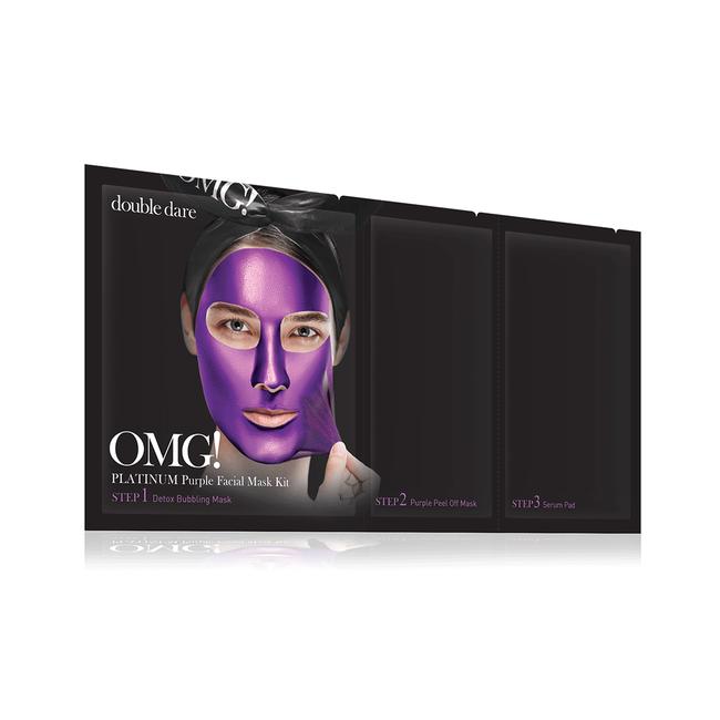 OMG! Platinum Purple Face Mask