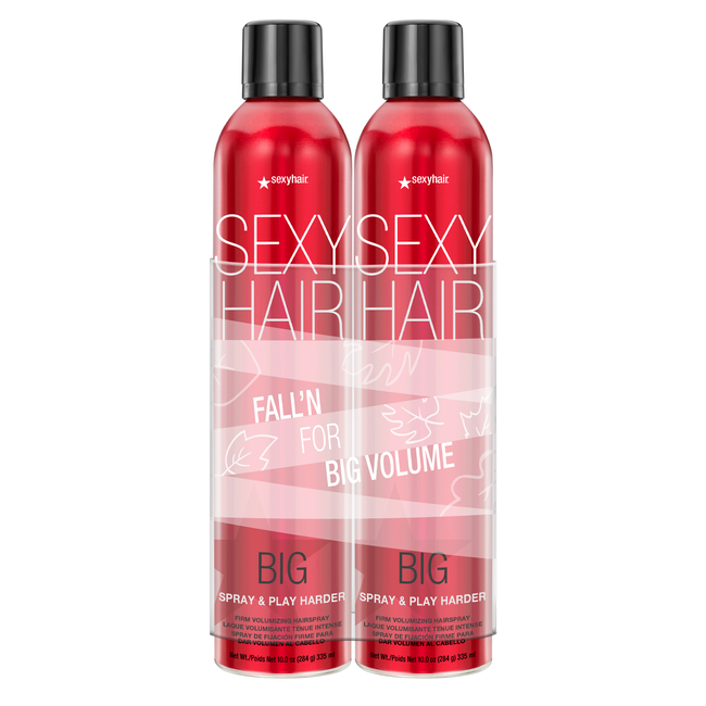 Hair Spray and Play Harder Duo