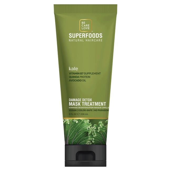 SuperFoods Kale Damage Detox Mask Treatment