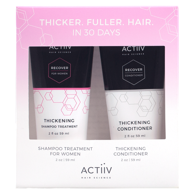 Women's Recover Cleansing Treatment, Thickening Conditioner