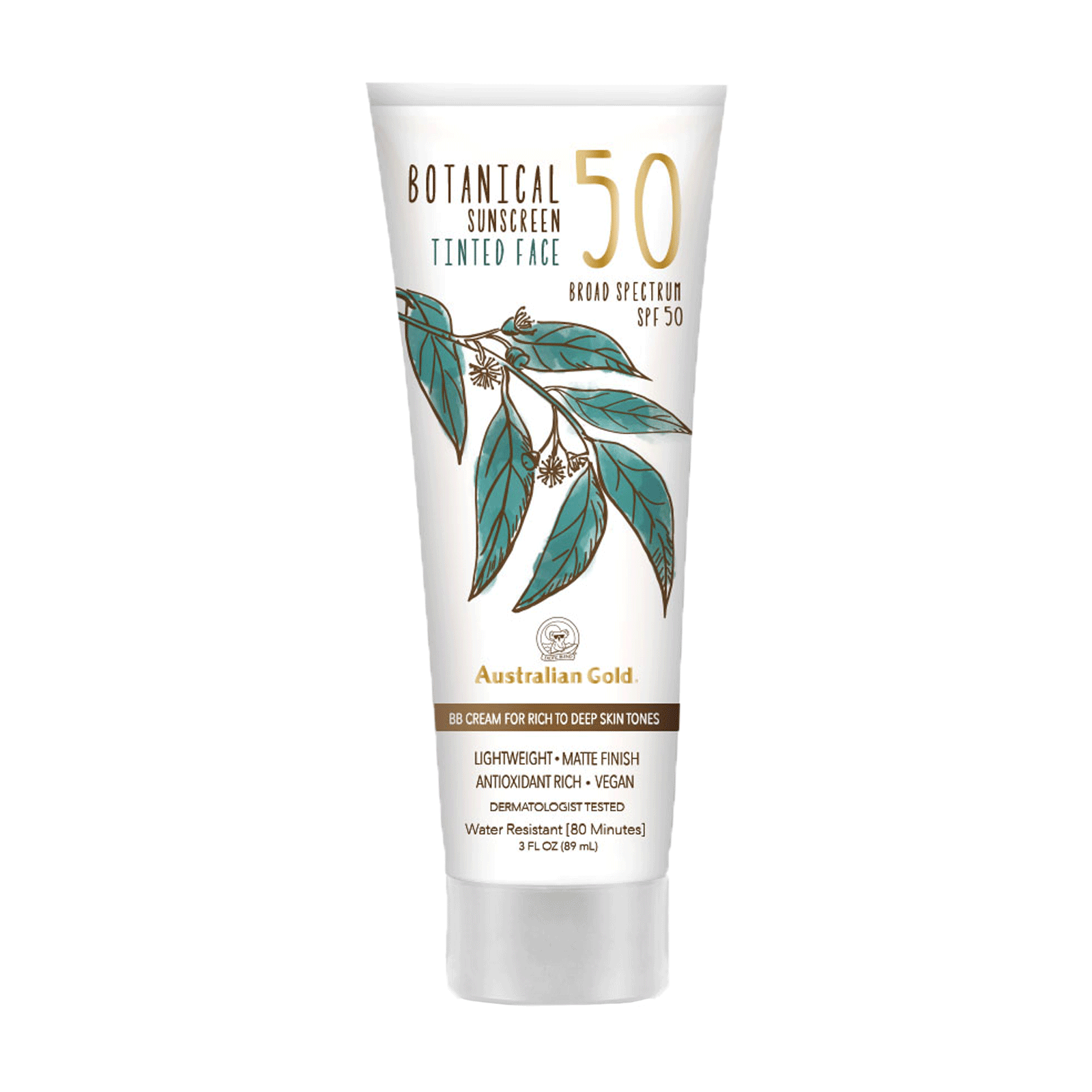 Botanical SPF50 Tinted Face Mineral Lotion