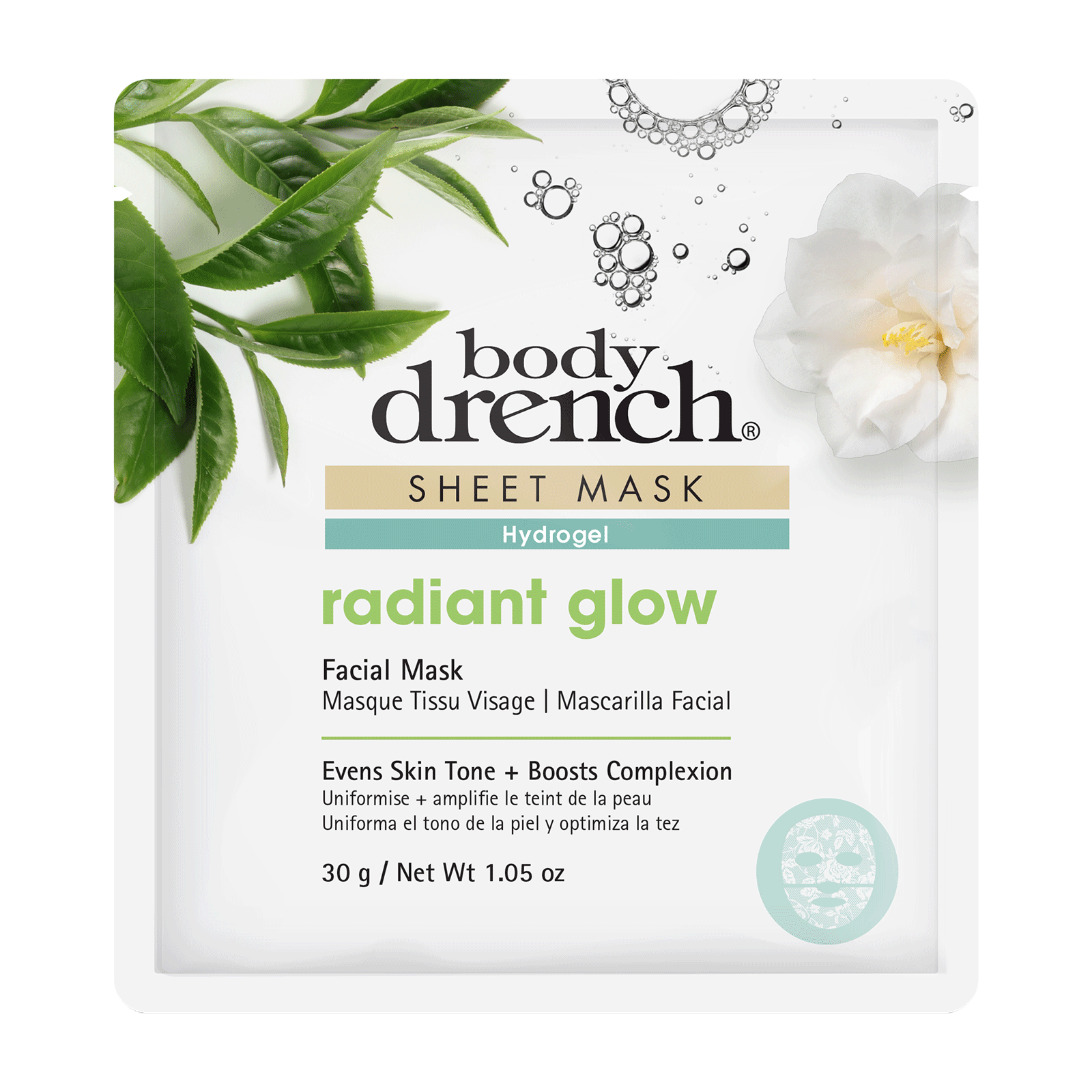 Radiant Glow Hydrogel Sheet Mask