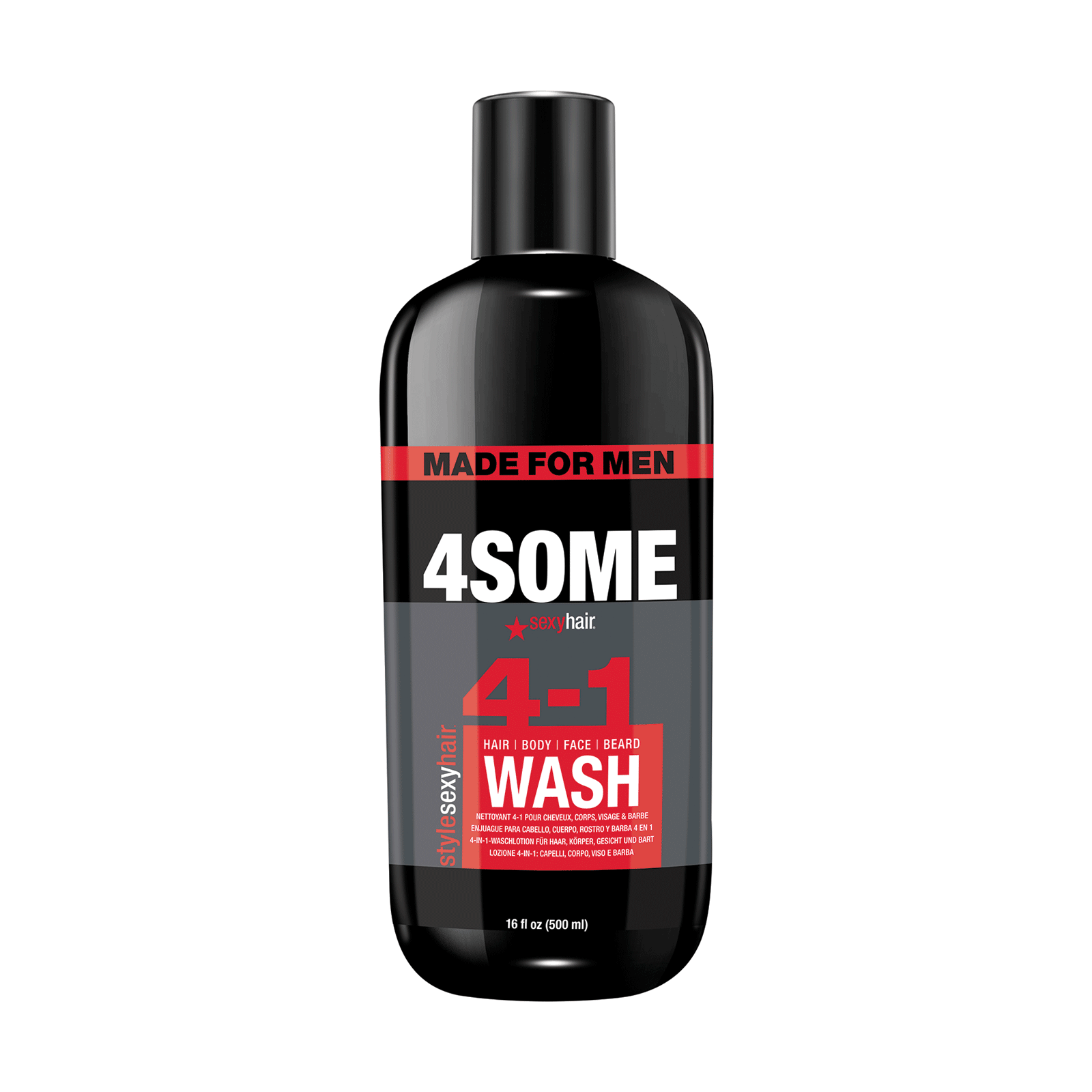 4Some Hair, Body, Face & Beard Wash