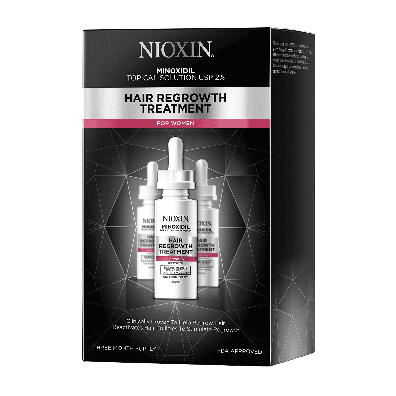 Hair Regrowth Treatment - Womens 90 Day Supply