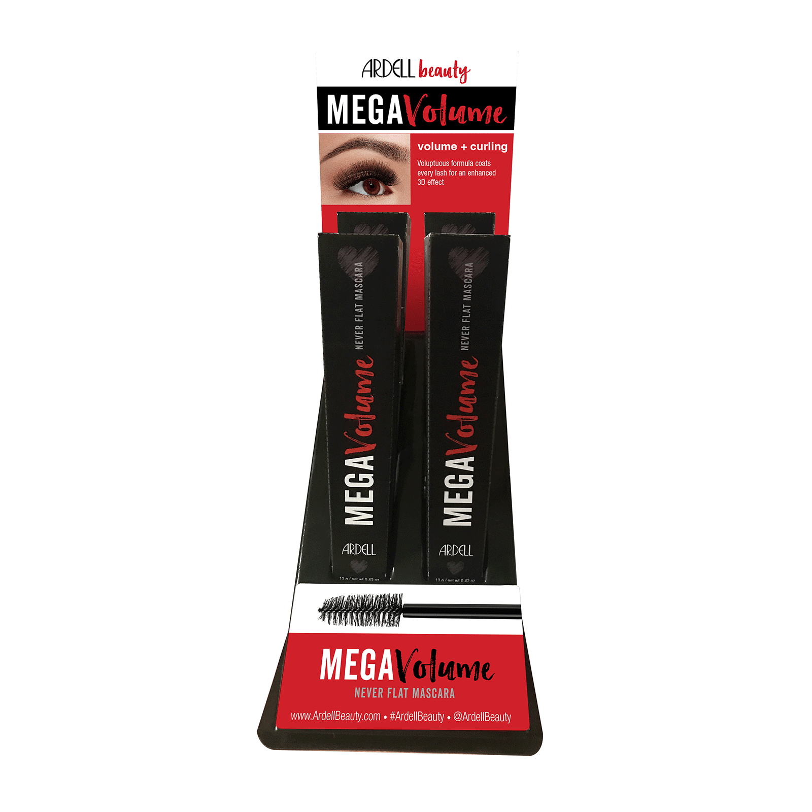 Ardell Metal Volume Mascara - 4 Piece Display