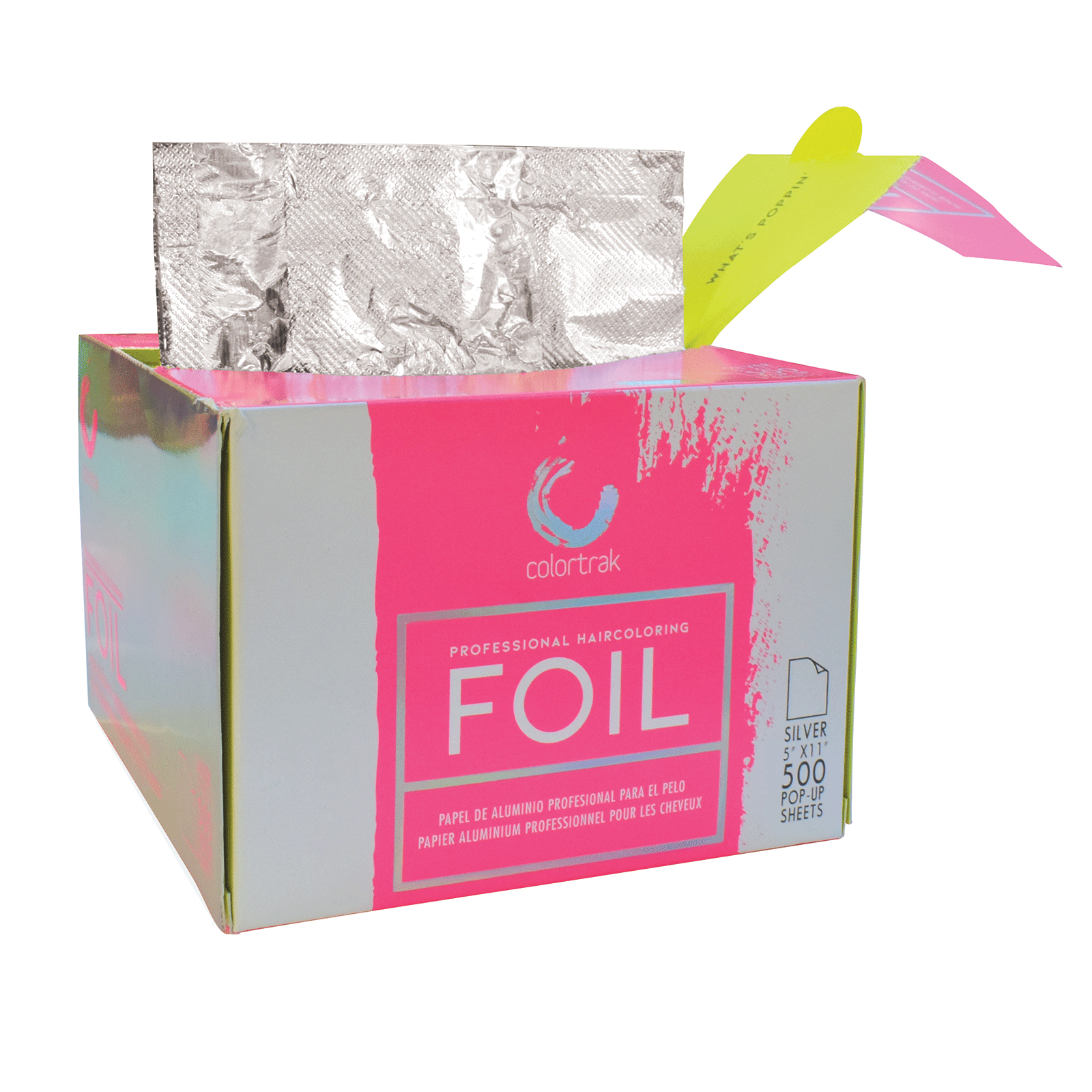 Colortrak Pop-Up Foil Sheets 5 inch x 10.75 inch - 500 count