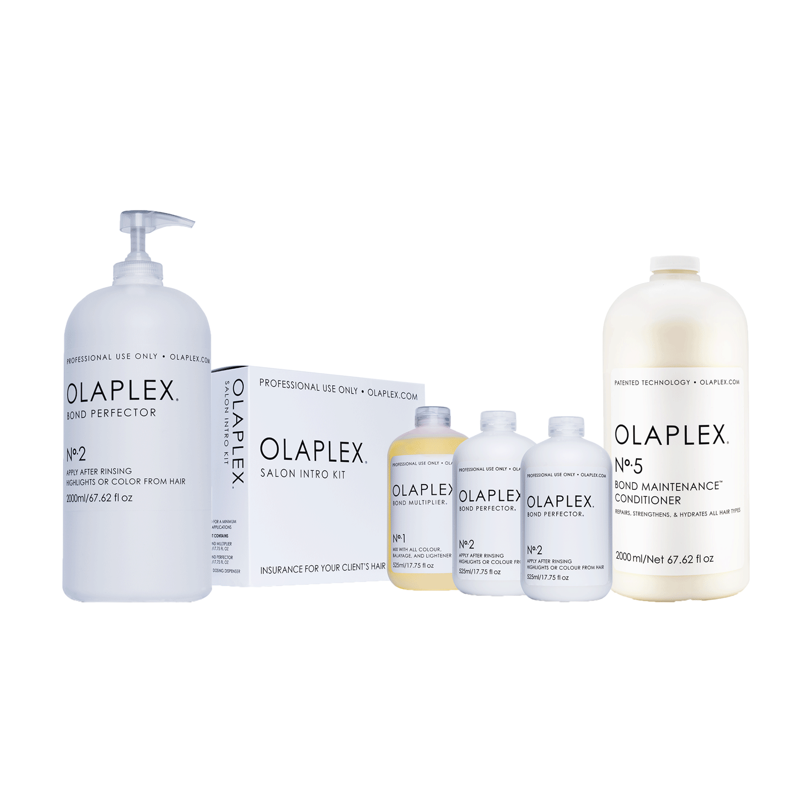 Olaplex Stylist Kit, Large Kit, Bond Perfector, Conditioner