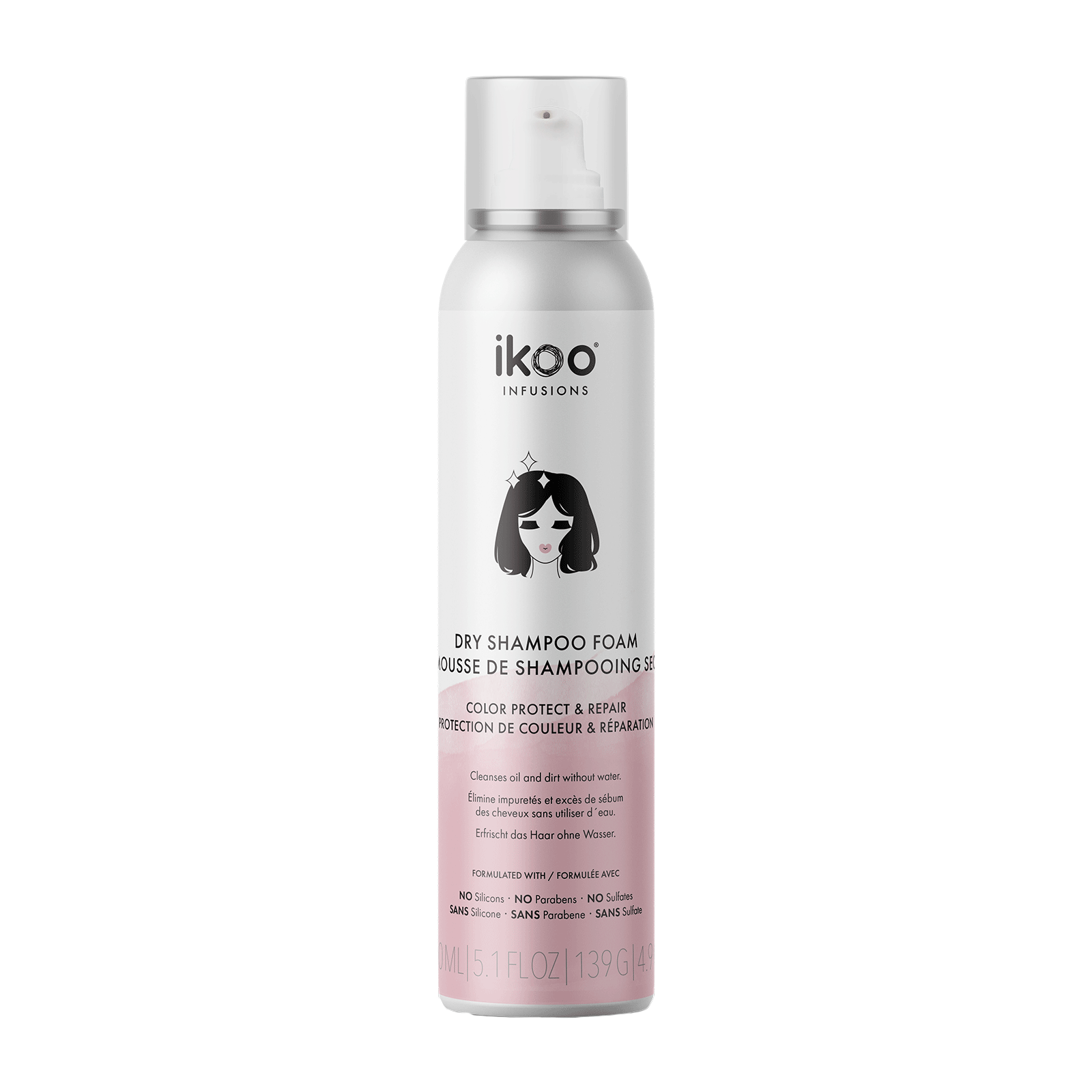 Dry Shampoo Foam Color Protect & Repair
