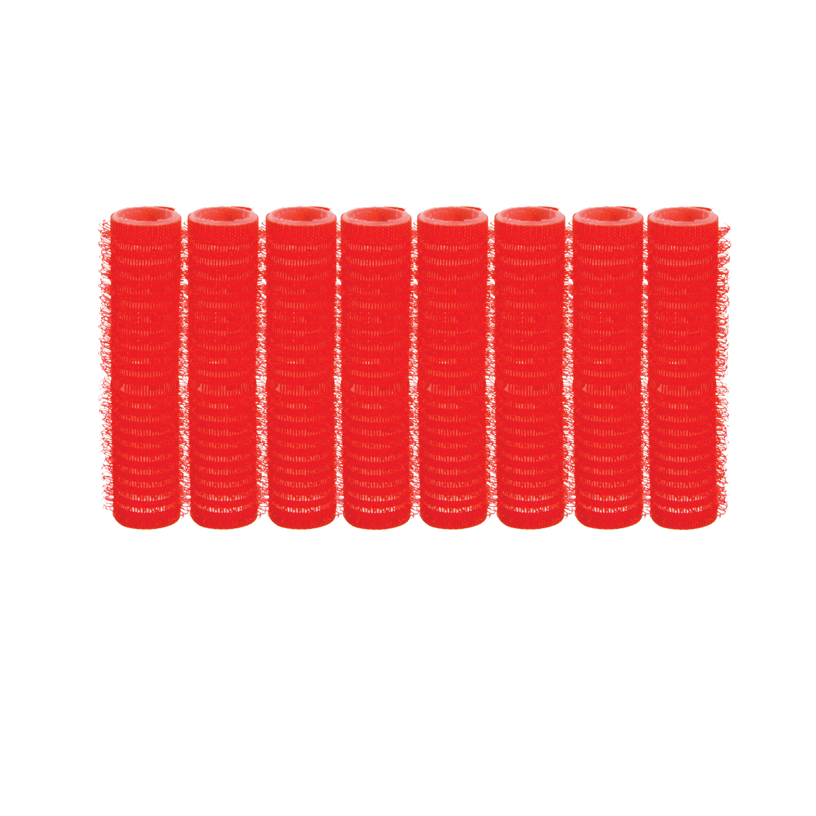Spilo Self-Grip Rollers - 1/2 Inch Red 8–Count