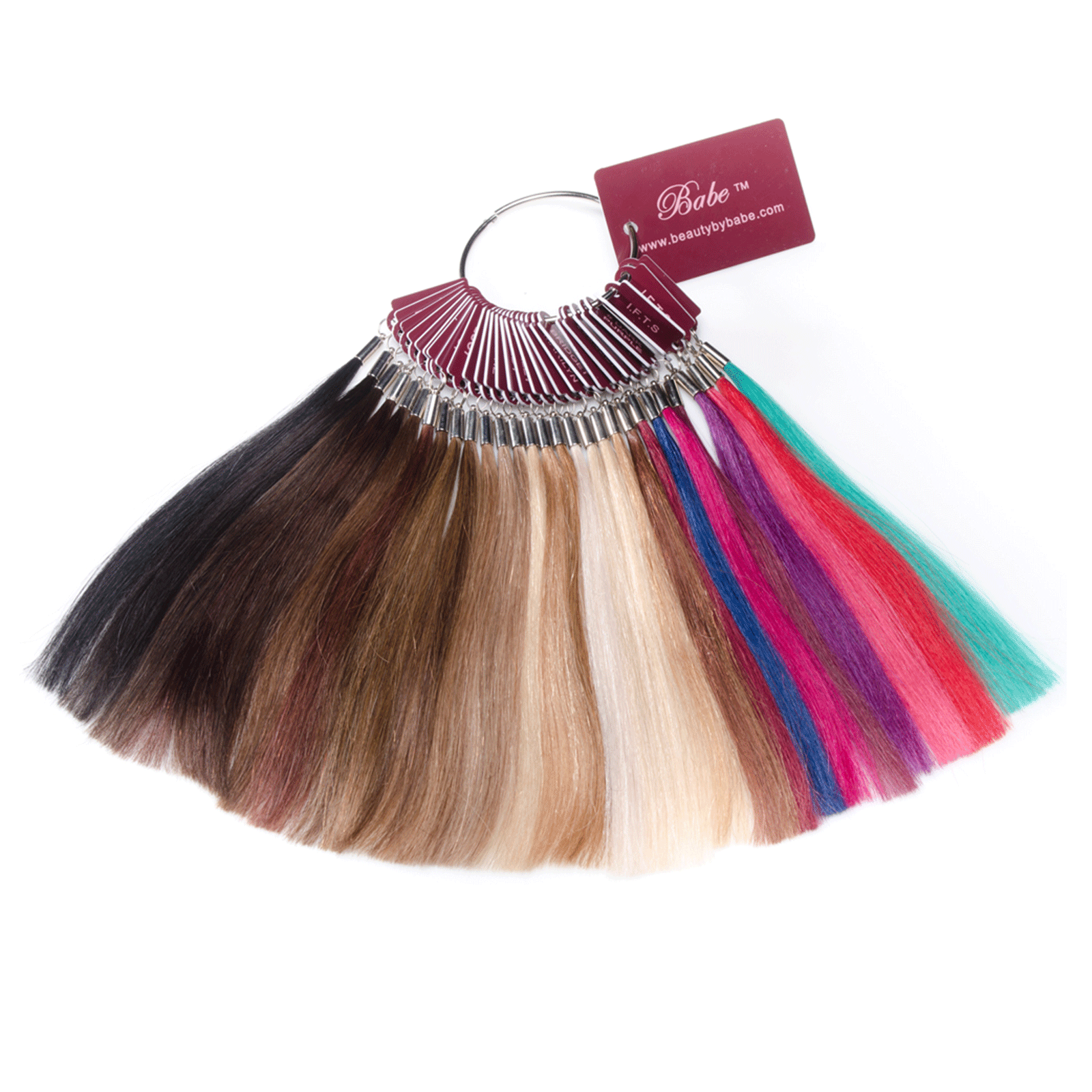 Color Swatch Ring - Babe Hair Extensions | CosmoProf