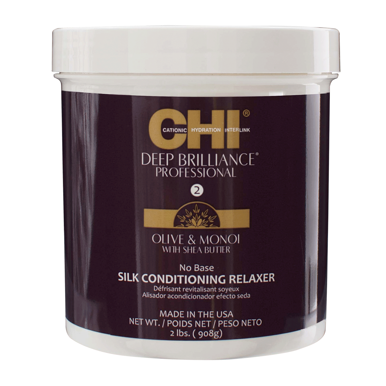 CHI Deep Brilliance - Silk Conditioning Relaxer
