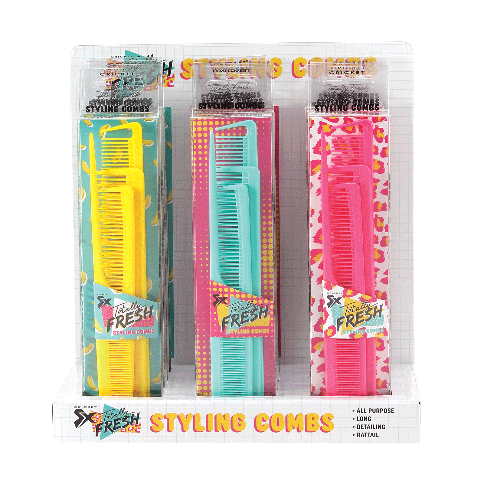 Totally Fresh Combs - 12 Piece Display