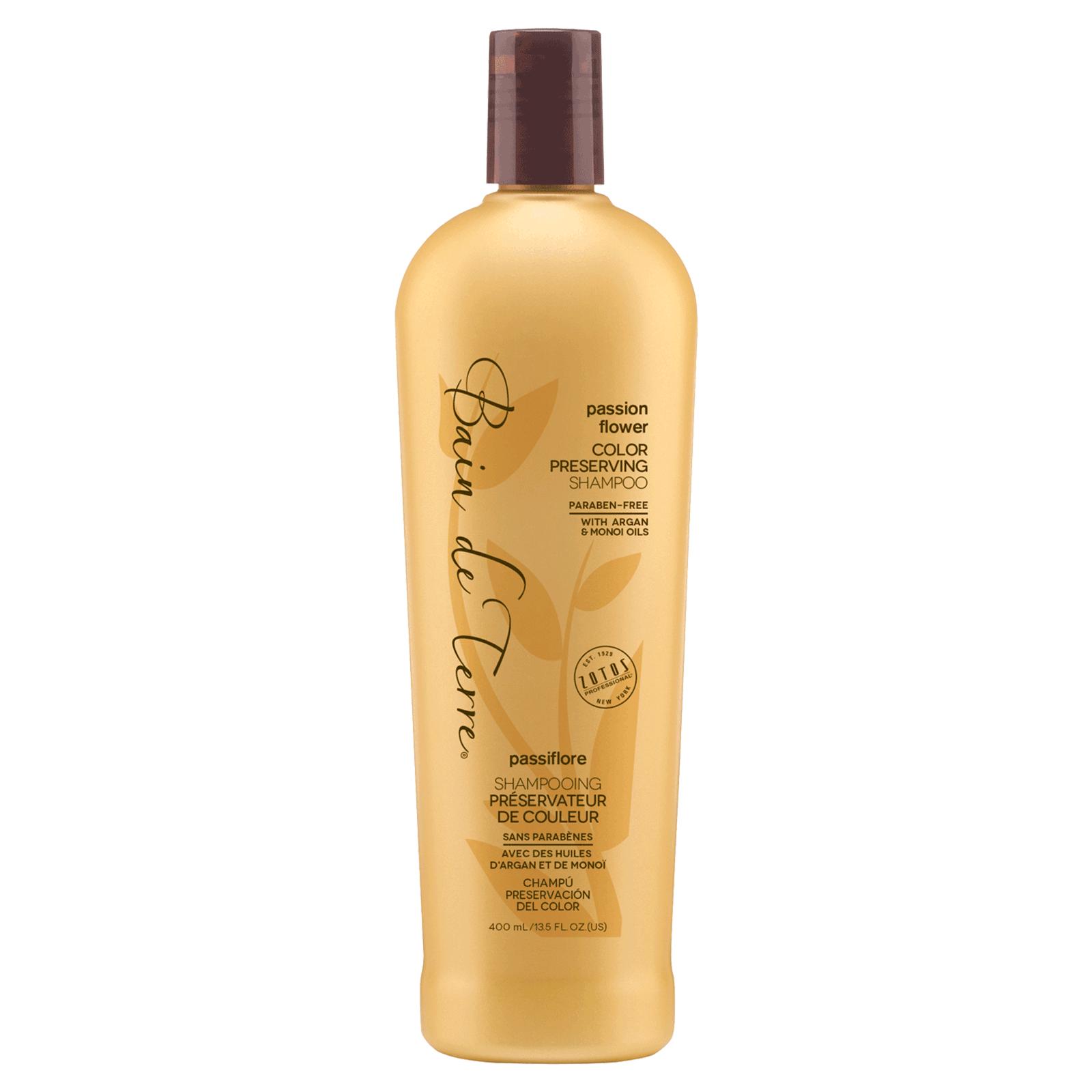f1d17aa9fd Passion Flower Color Preserving Shampoo - Bain de Terre