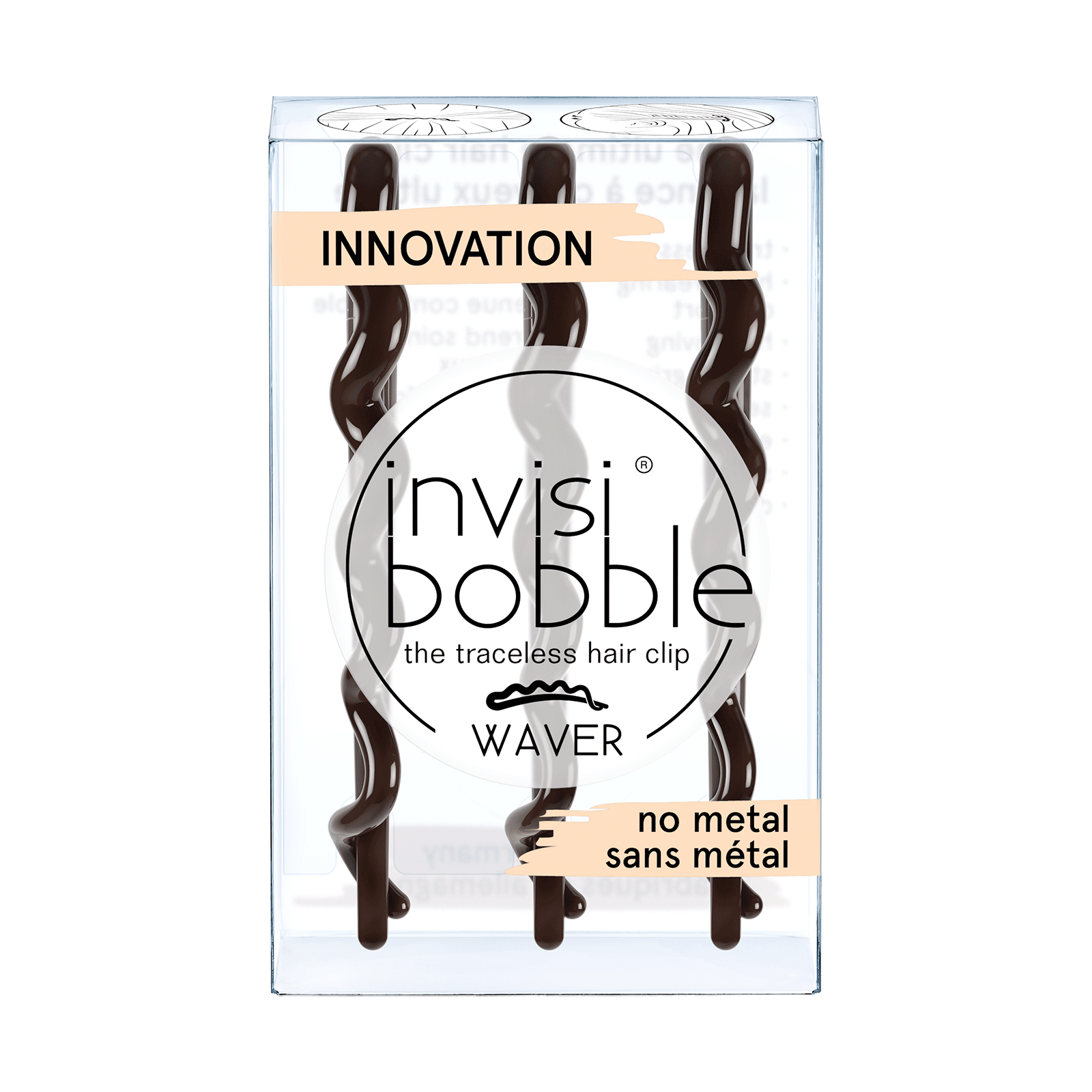 Invisibobble Waver Pretty Dark - 3 Count