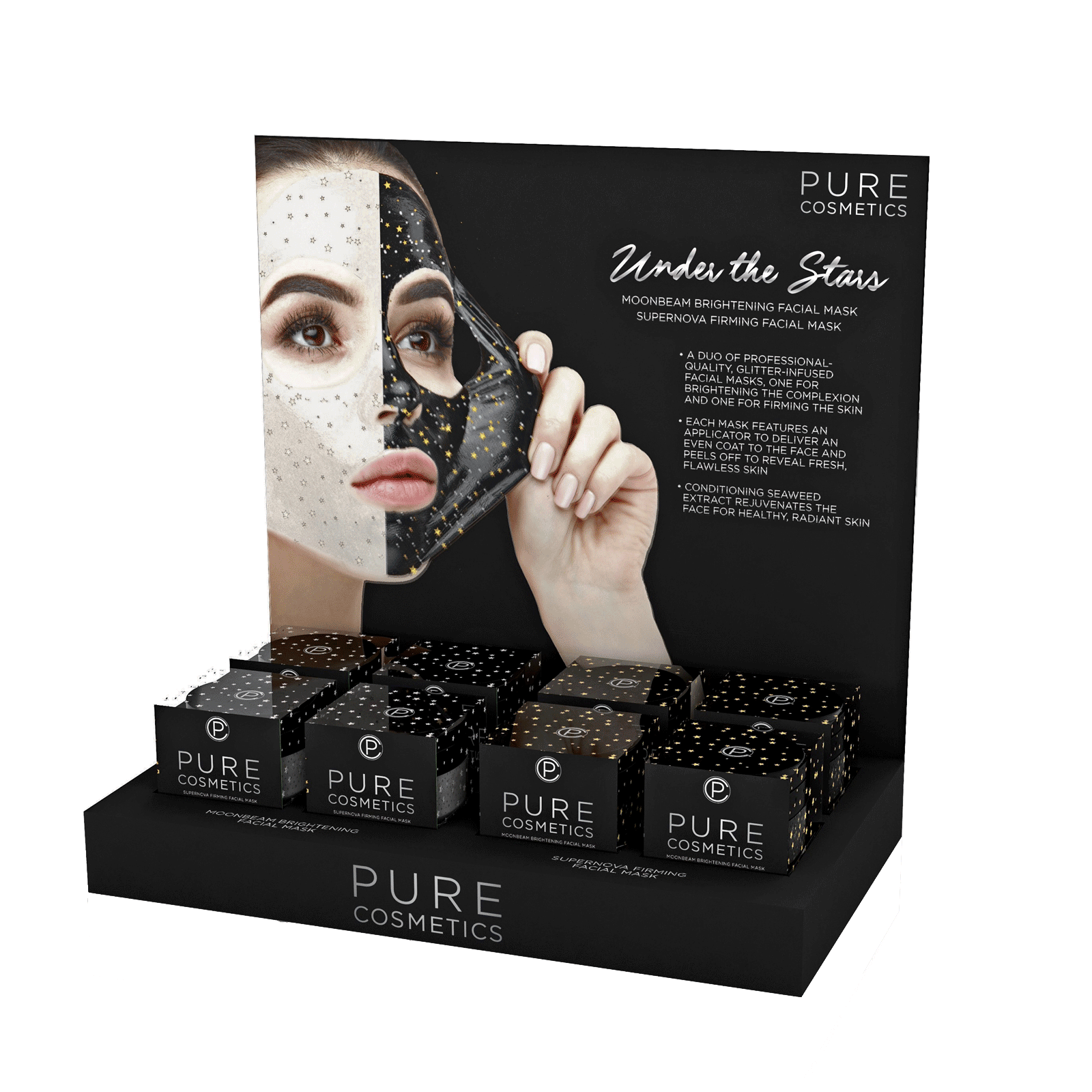 Under The Stars Mask - 8 Count Display