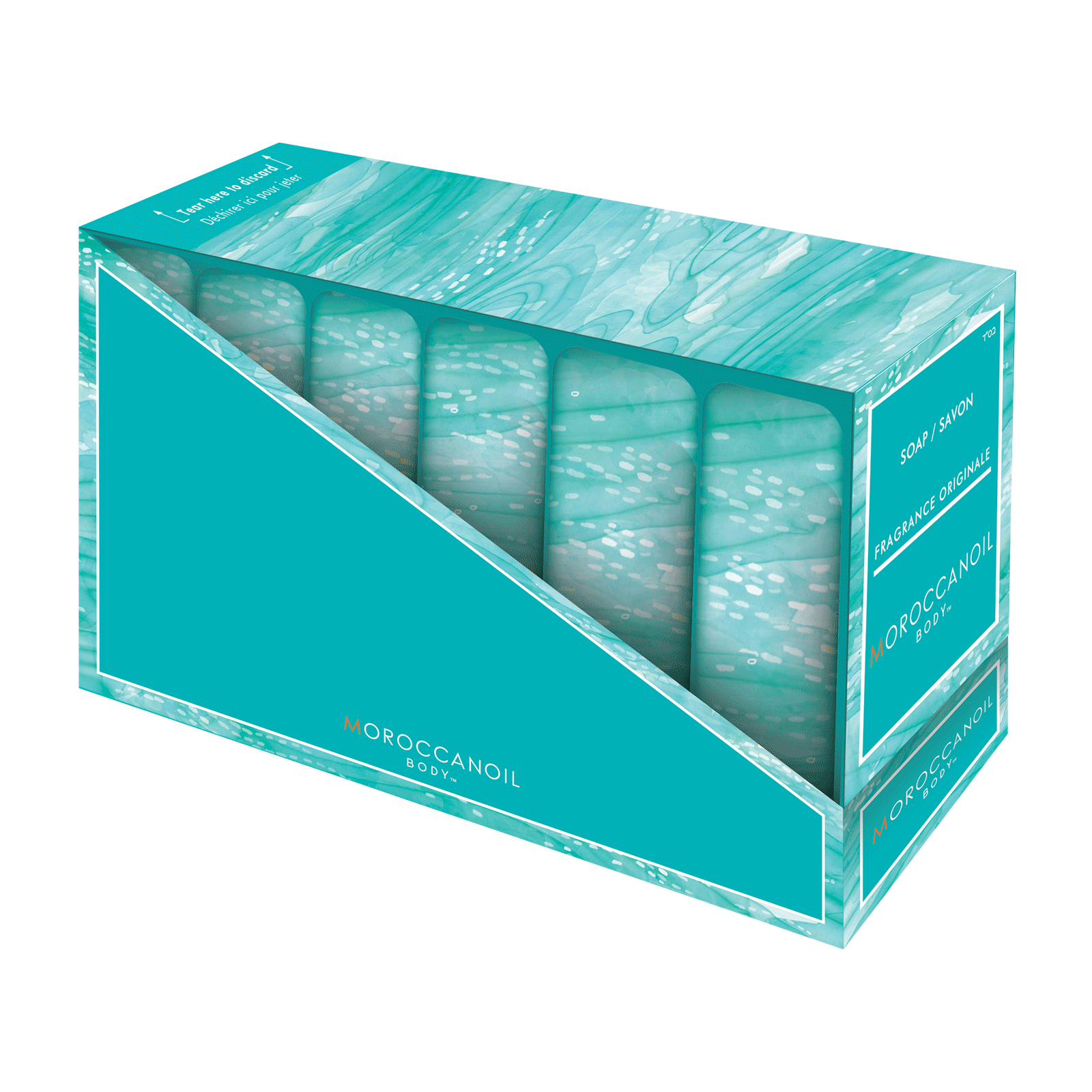 Moroccan Oil Cleansing Bar - 5 Piece Display