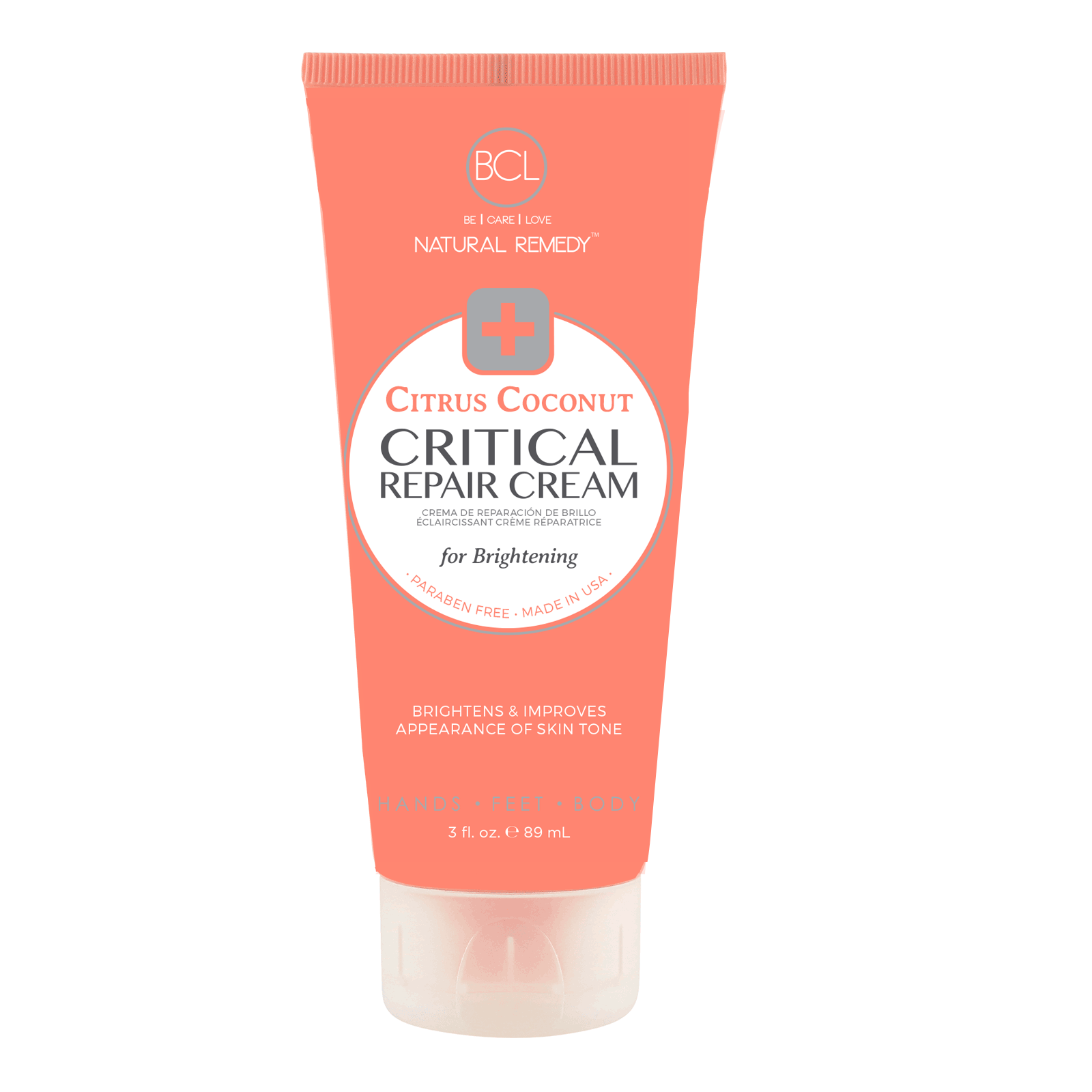 Critical Repair Cream - Citrus Coconut