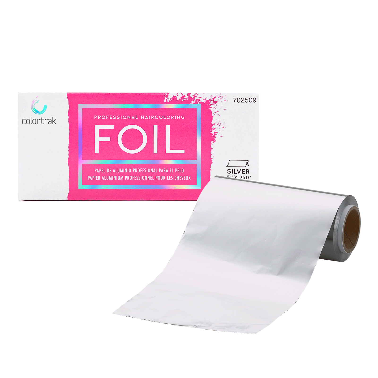 Colortrak Professional Silver Foil Roll