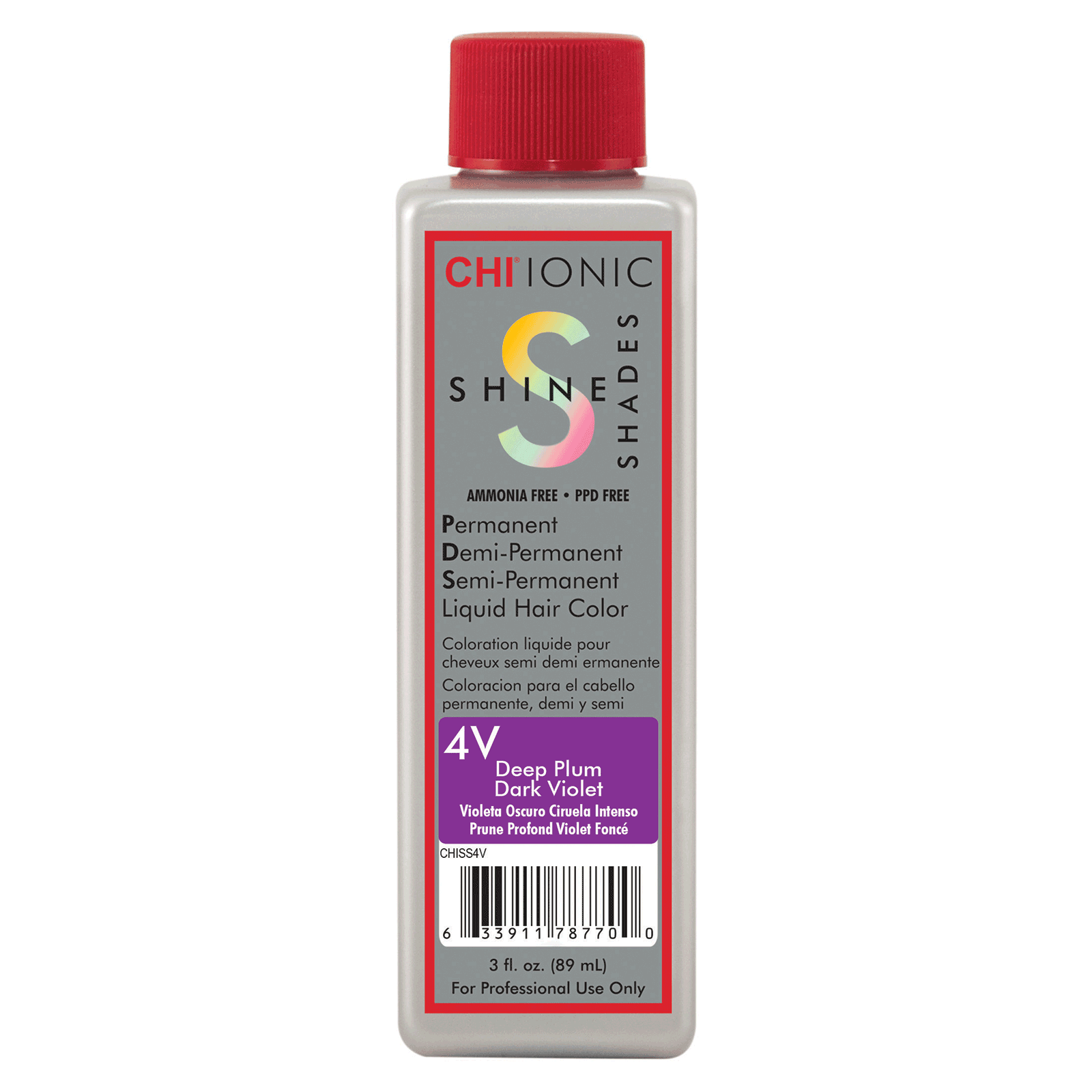 CHI Shine Shades Liquid Color - Violet Collection