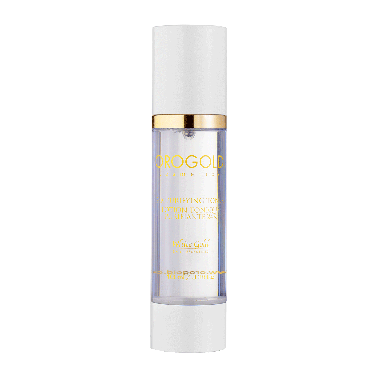 White Gold 24K Purifying Toner