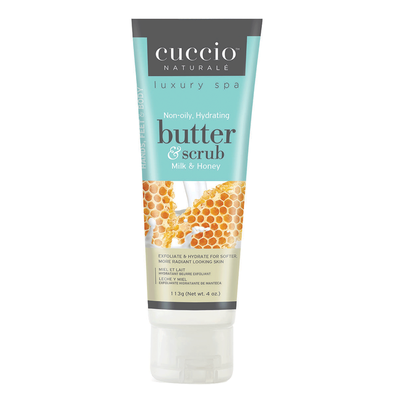 Cuccio Butter & Scrub - Milk & Honey