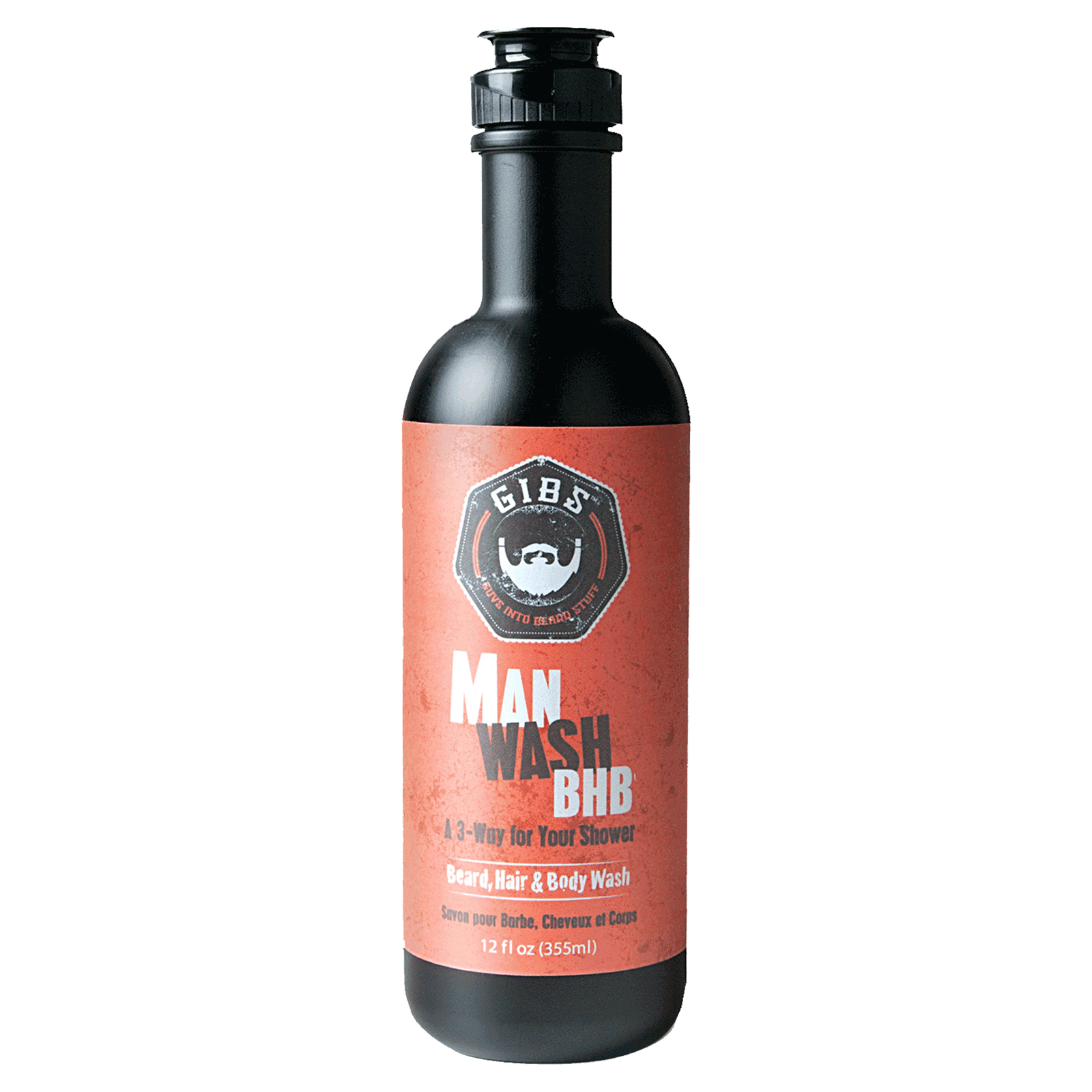 Man Wash BHB (Beard, Hair and Body)