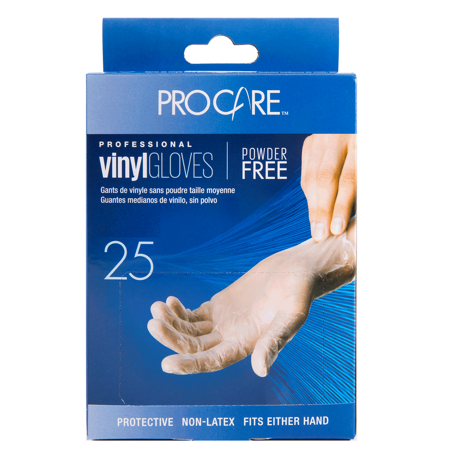 ProCare Vinyl Powder-Free Gloves - Small