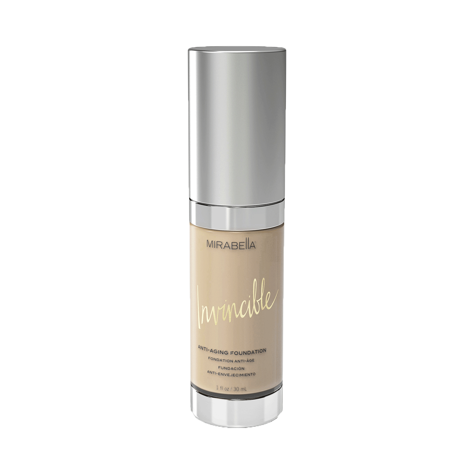 Invincible Anti-Aging HD Foundation (Ivory)