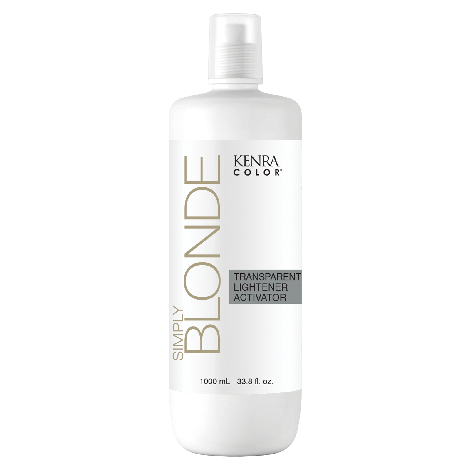 Simply Blonde Transparent Lightener Activator