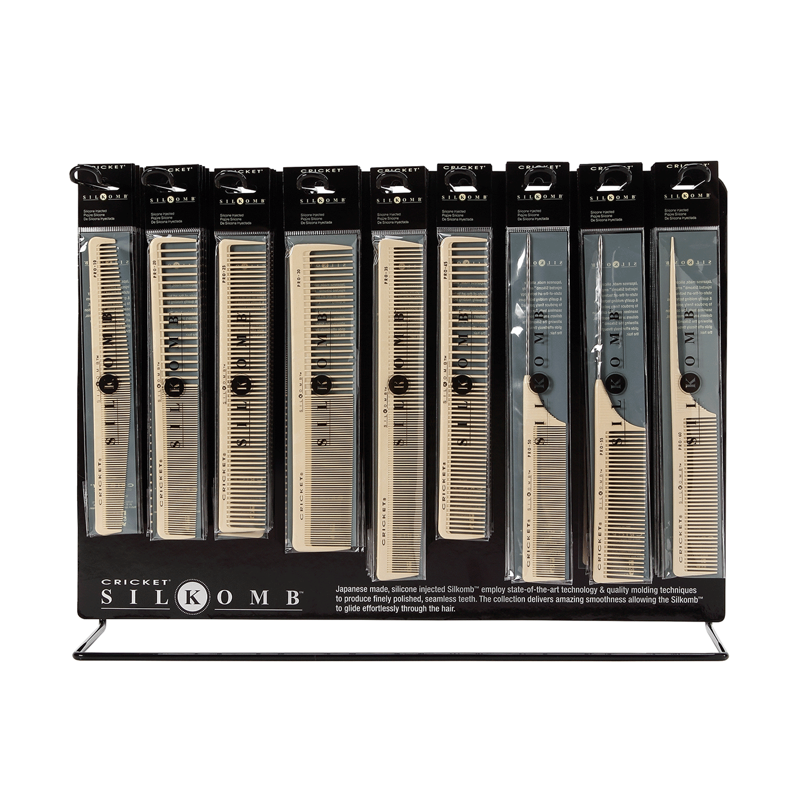 Silkcomb 54 Piece Display
