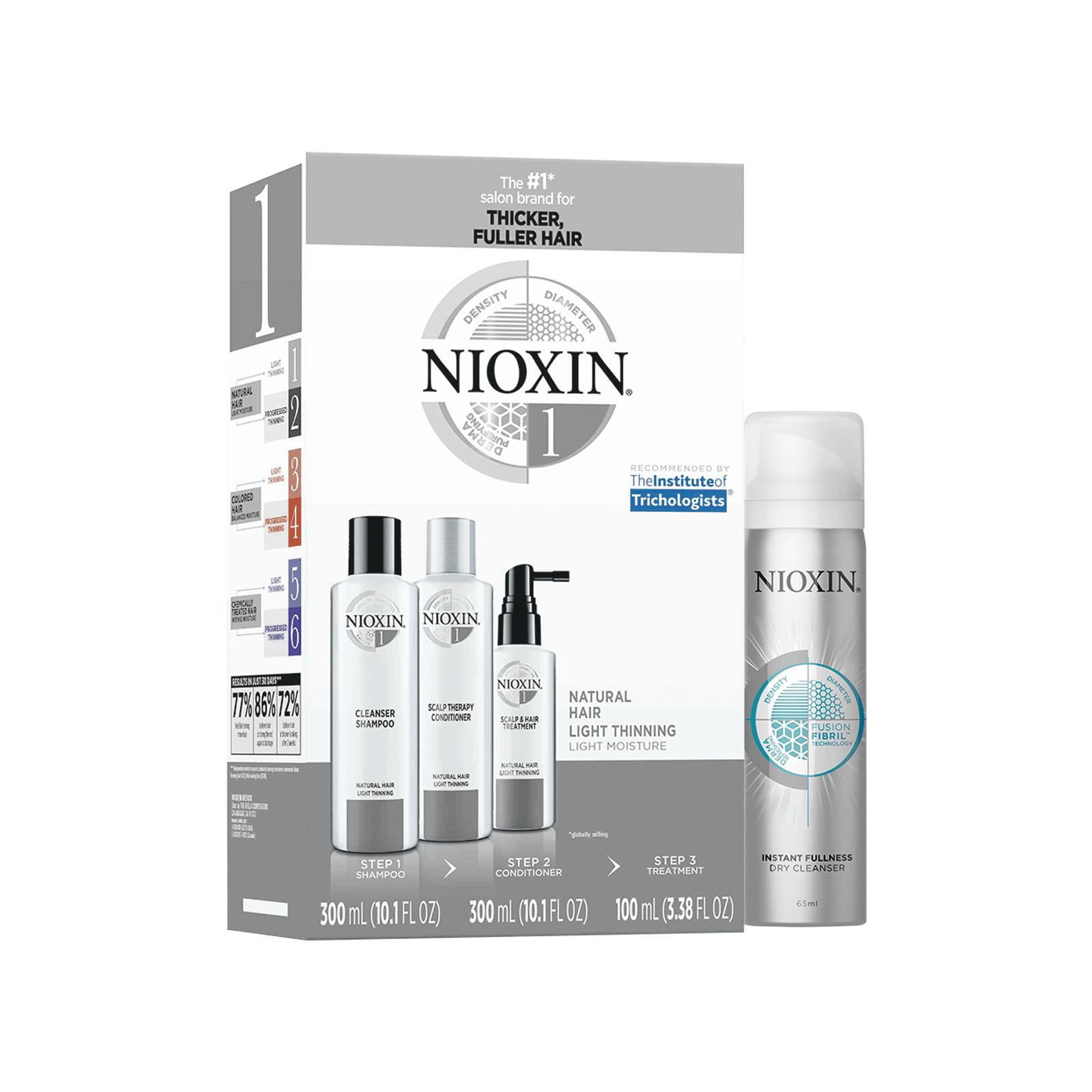 System Kit 1 Instant Fullness Dry Cleanser Nioxin
