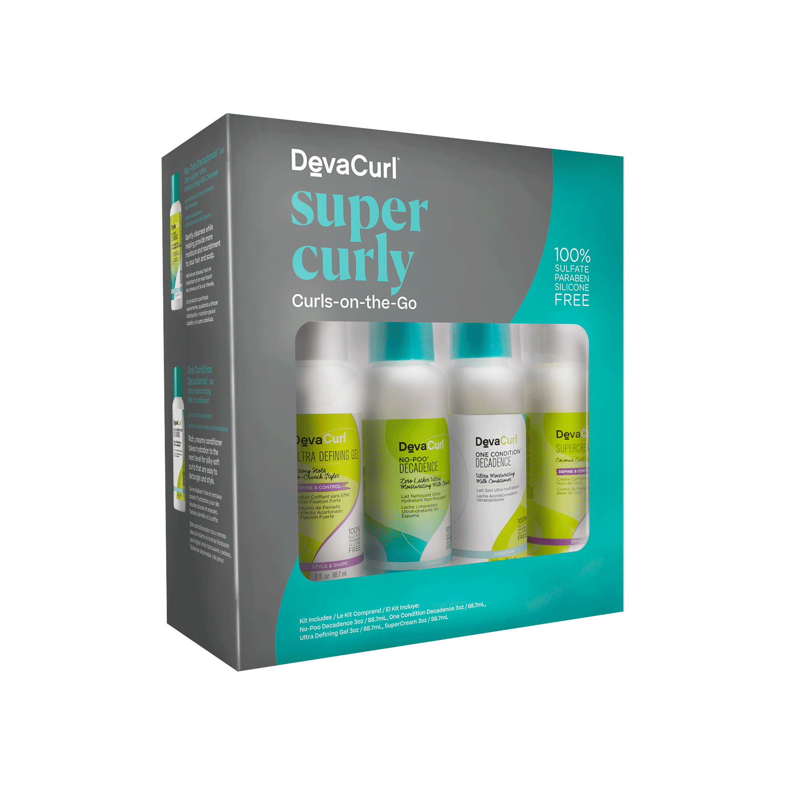 Super Curly Curls-On-The-Go Kit
