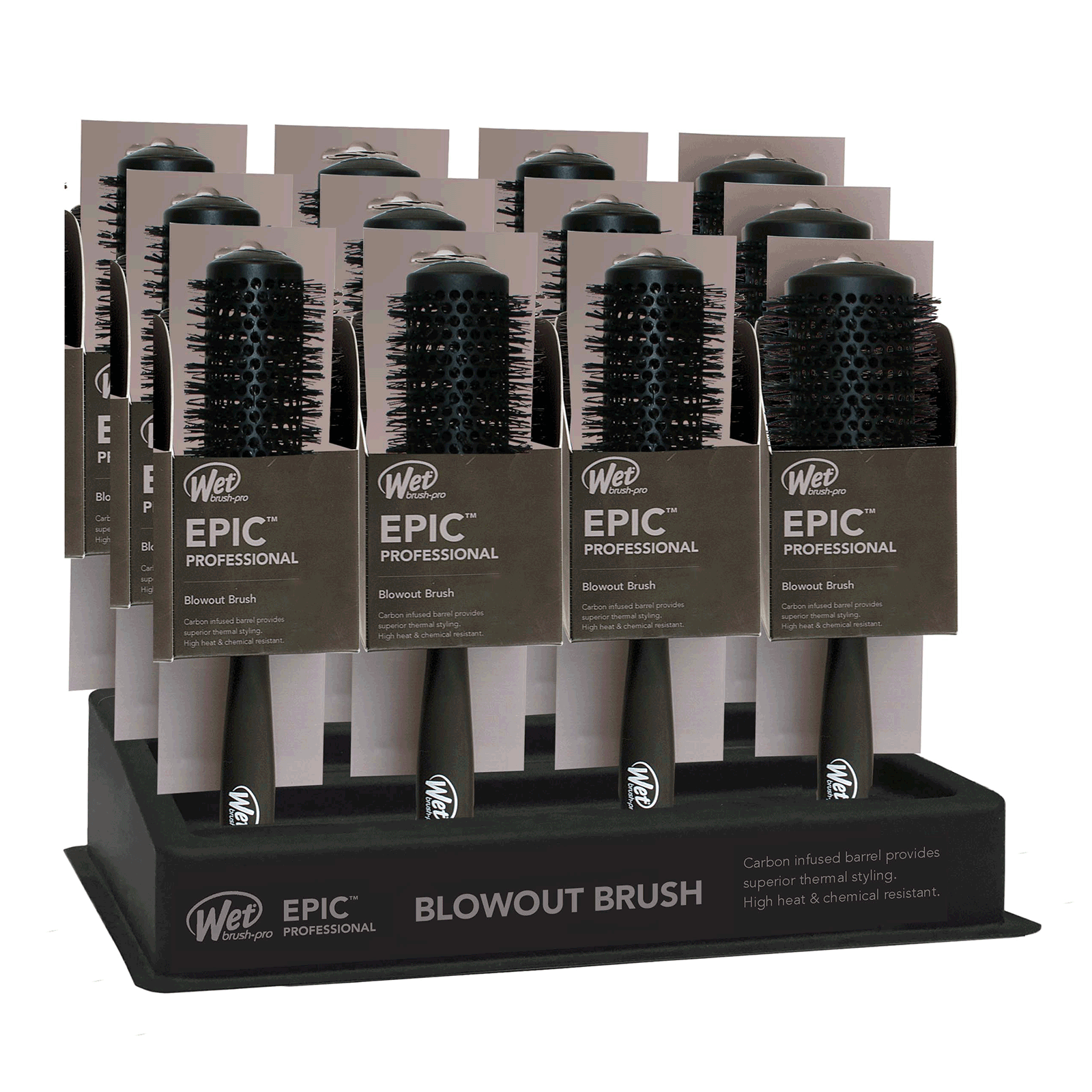Epic Blowout Round Brush - 12 piece display
