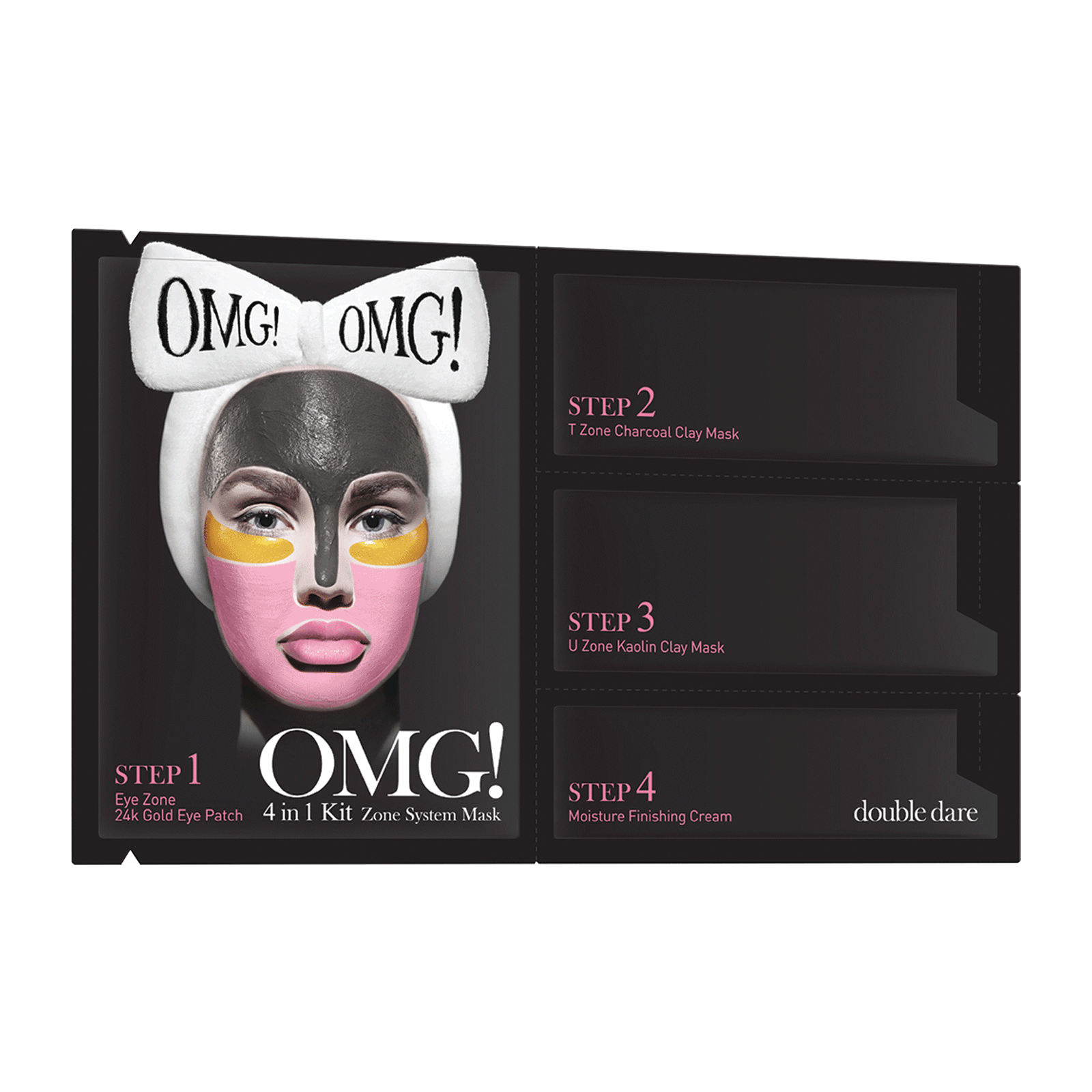OMG! 4-in-1 Kit Zone System Face Mask