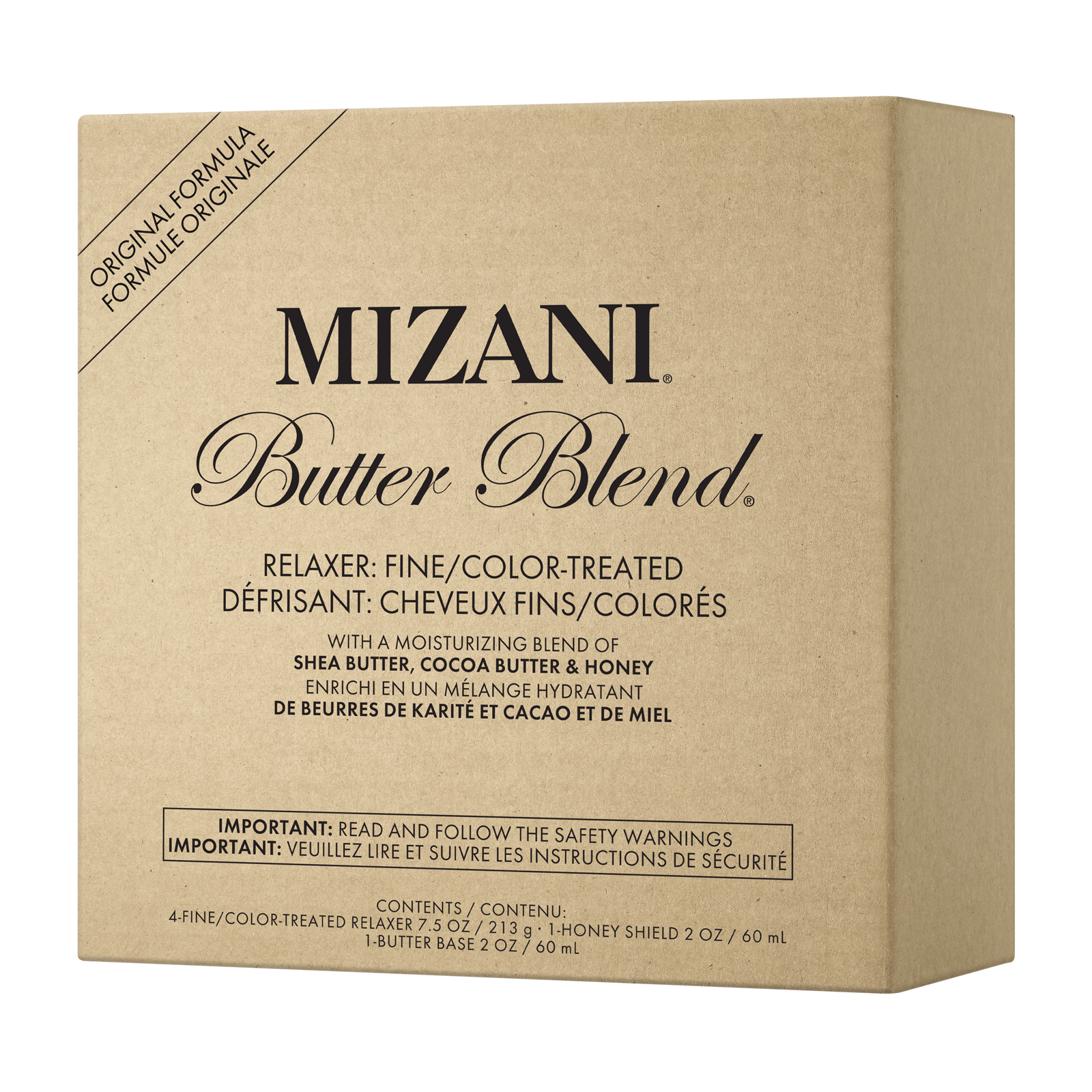 Butter Blend Fine/Color Treated Hair Relaxer Kit