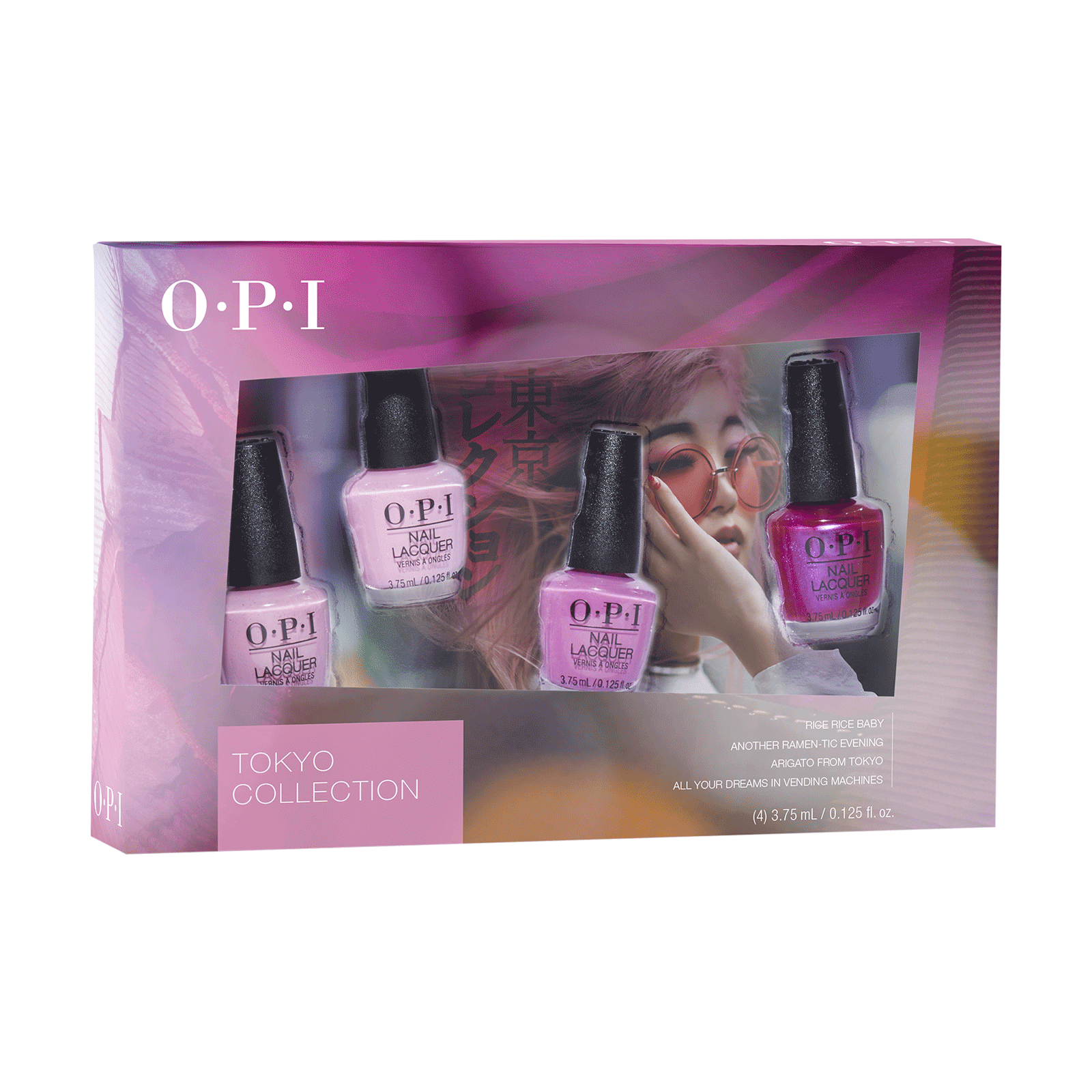 Tokyo Collection Nail Lacquer - 4 Piece Mini Kit