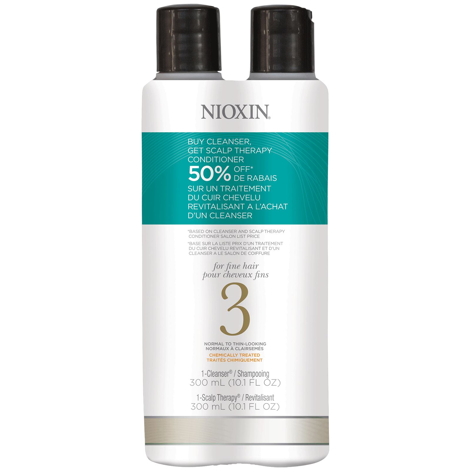 System 3 Cleanse & Scalp Therapy Duo