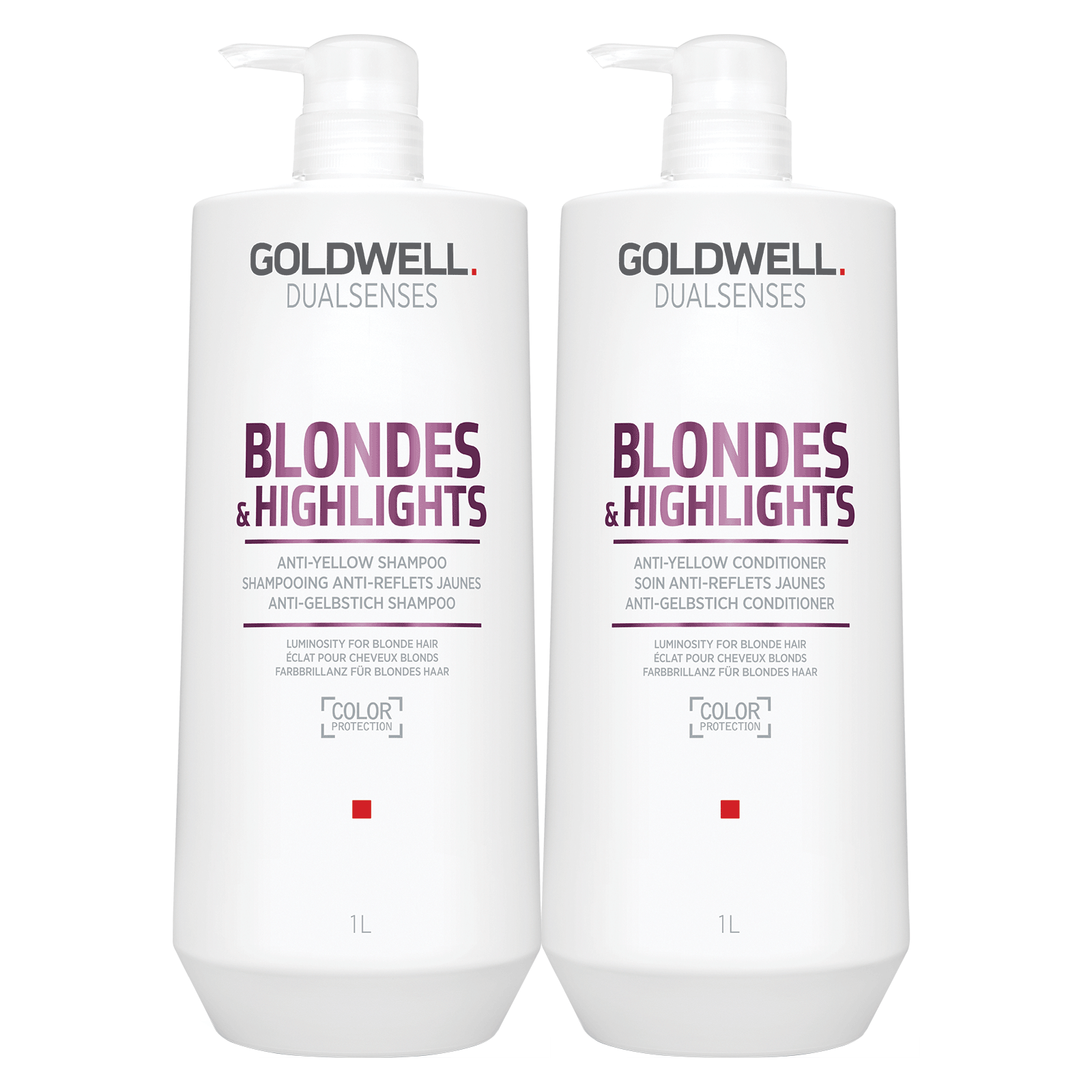 Dualsenses Blonde & Highlights Shampoo,Conditioner Liter Duo