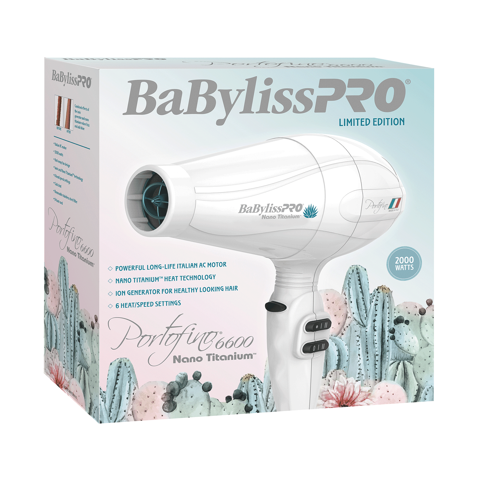 BaBylissPRO Desert Bloom Nano Titanium Dryer