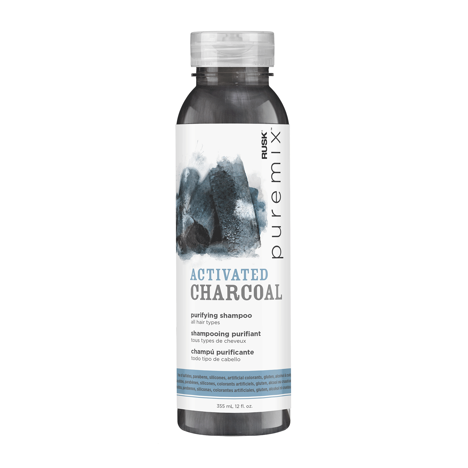 Puremix™Activated Charcoal Purifying Shampoo