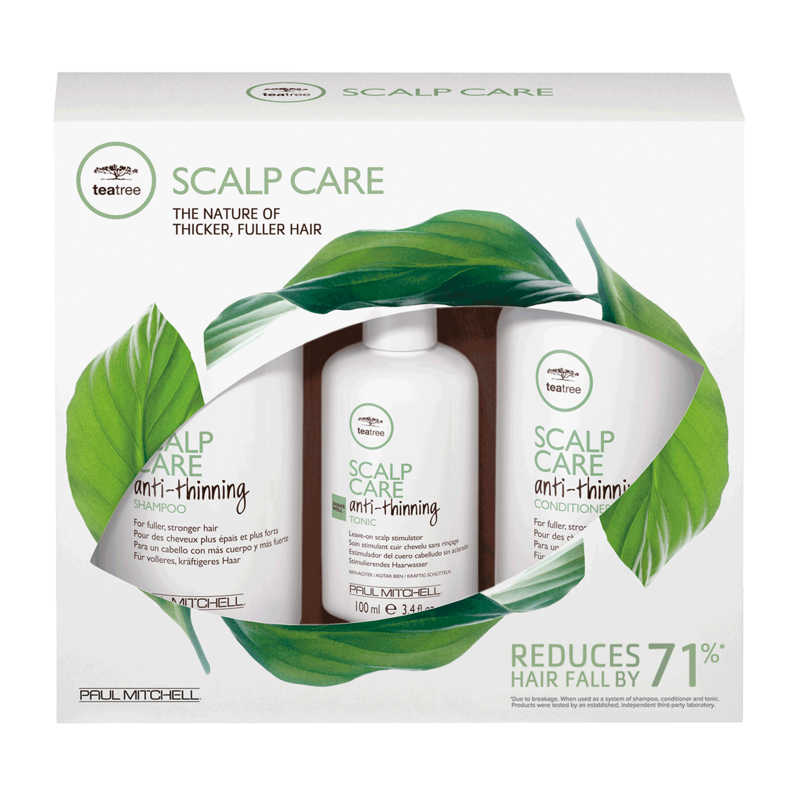 Tea Tree Scalp Care Regimen Kit