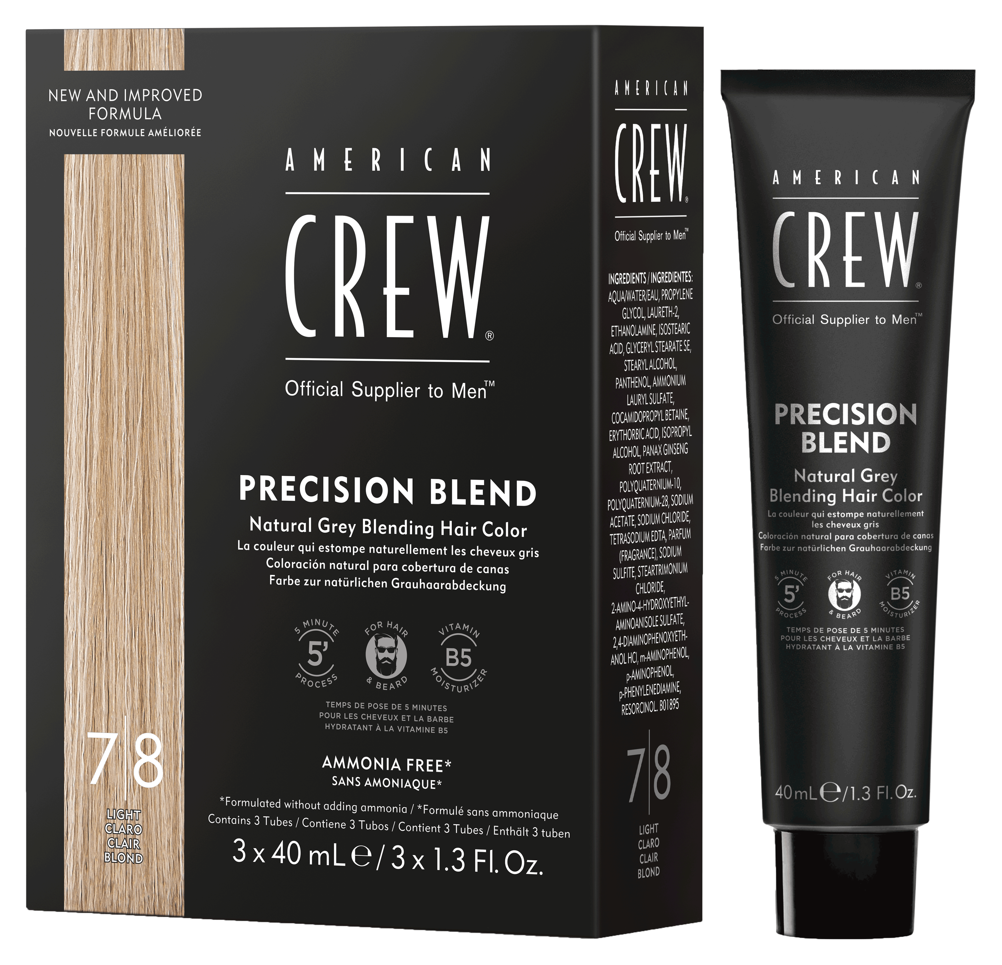 Precision Blend Natural Gray Coverage
