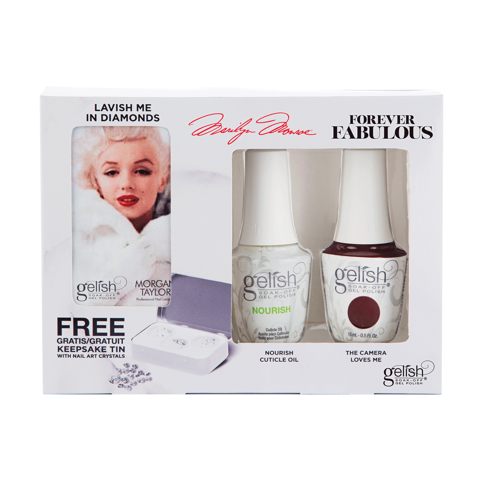 Gelish Forever Fabulous Keepsake Kit