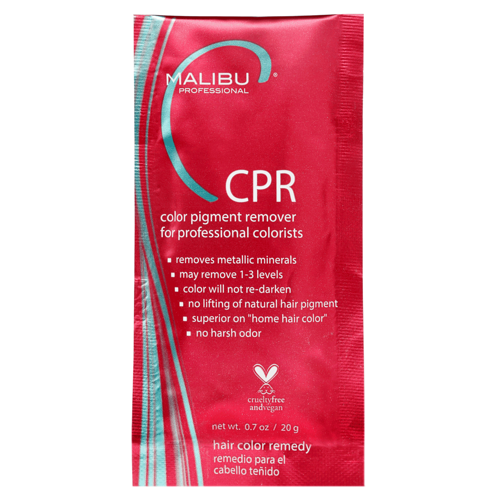 CPR Color Pigment Remover Packette