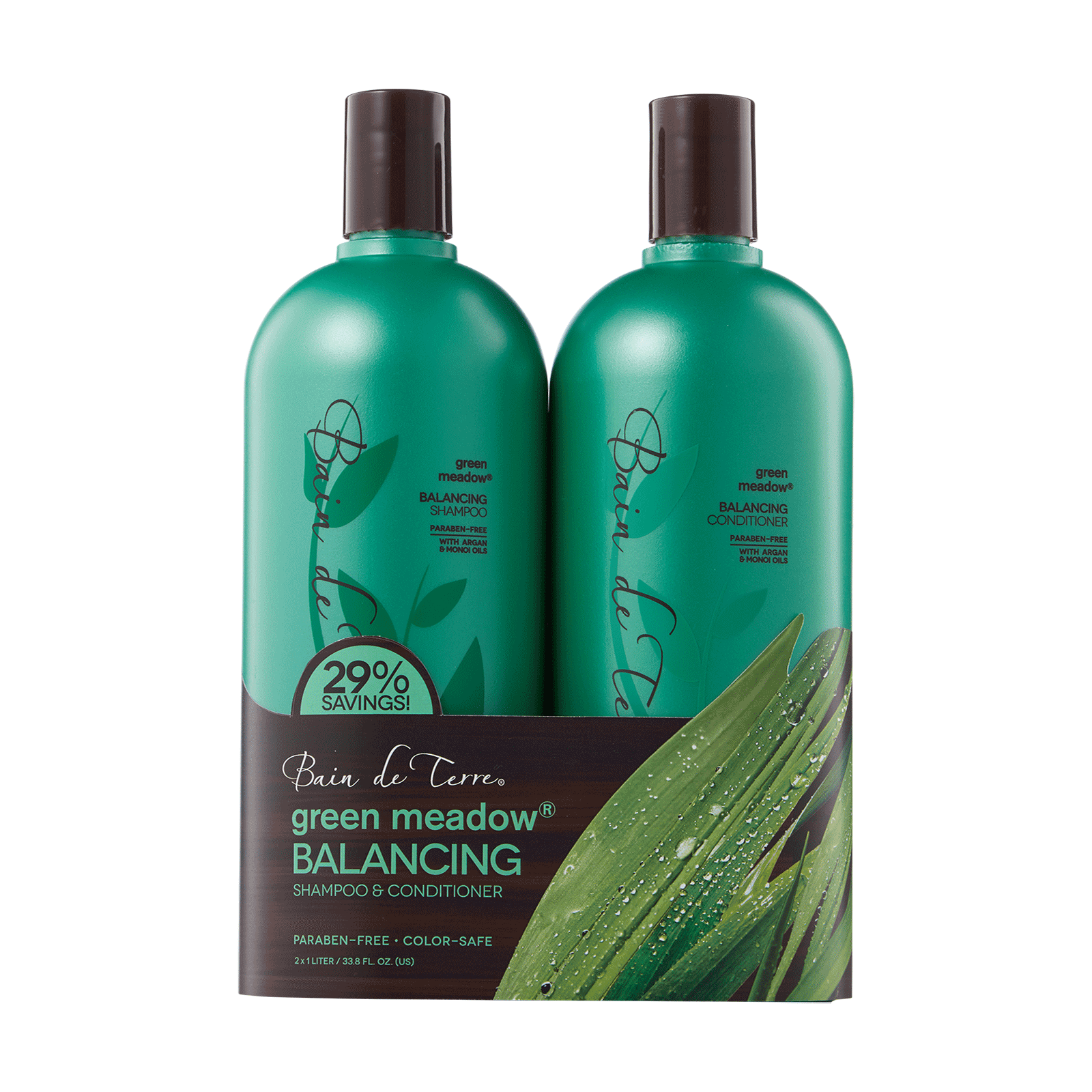Green Meadow Shampoo, Conditioner Liter Duo