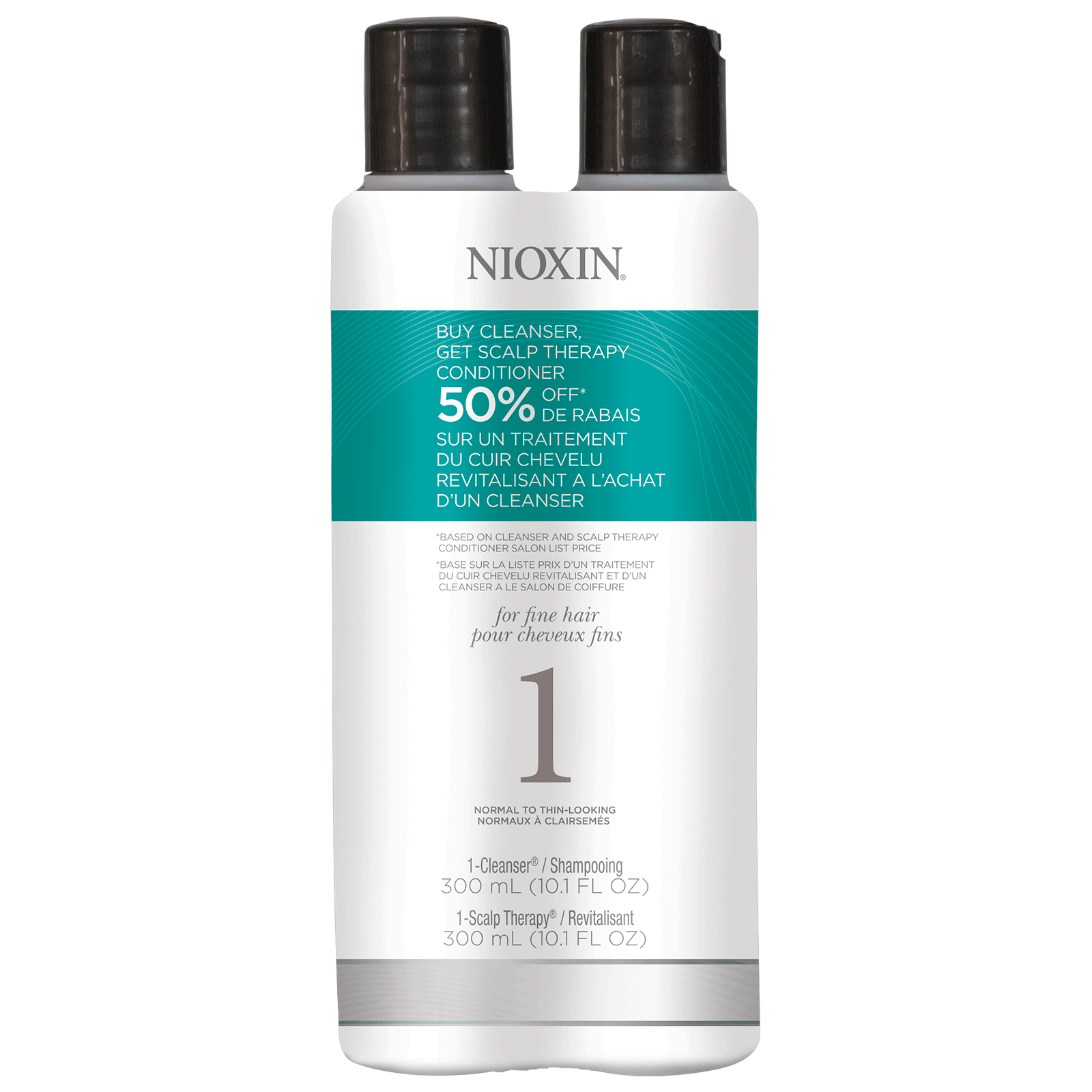 System 1 Cleanser + Scalp Therapy Duo