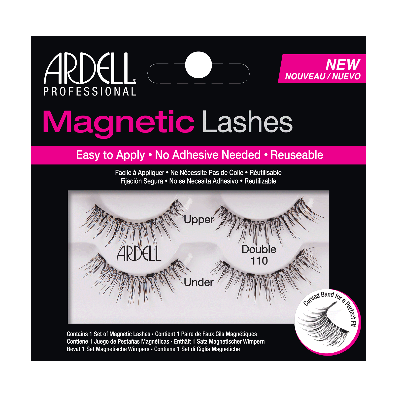 Magnetic Strip Lash #110
