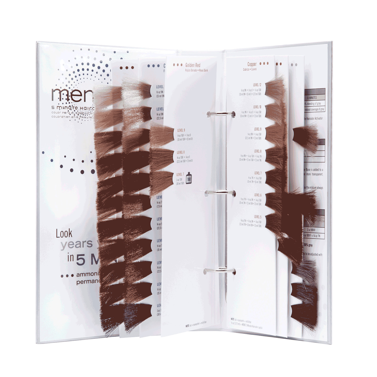 5 minute haircolor swatch book - Hair Color Swatch Book