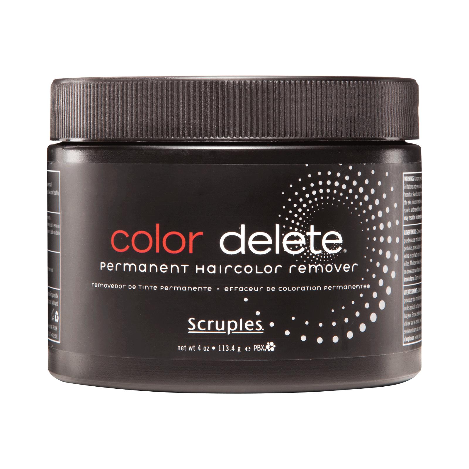 Color Delete Hair Color Remover Scruples Cosmoprof