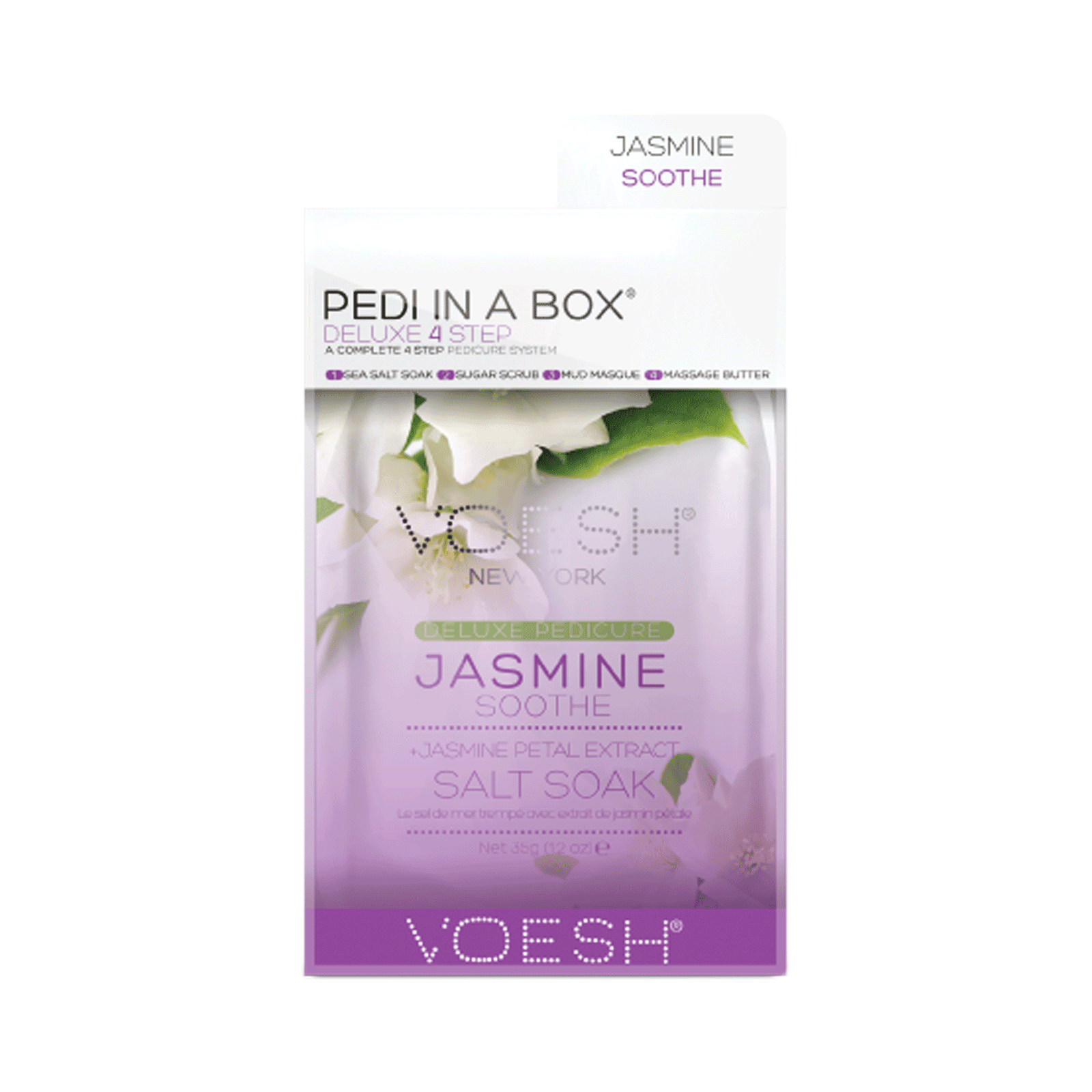 Deluxe 4-Step Pedi In A Box Jasmine Soothe